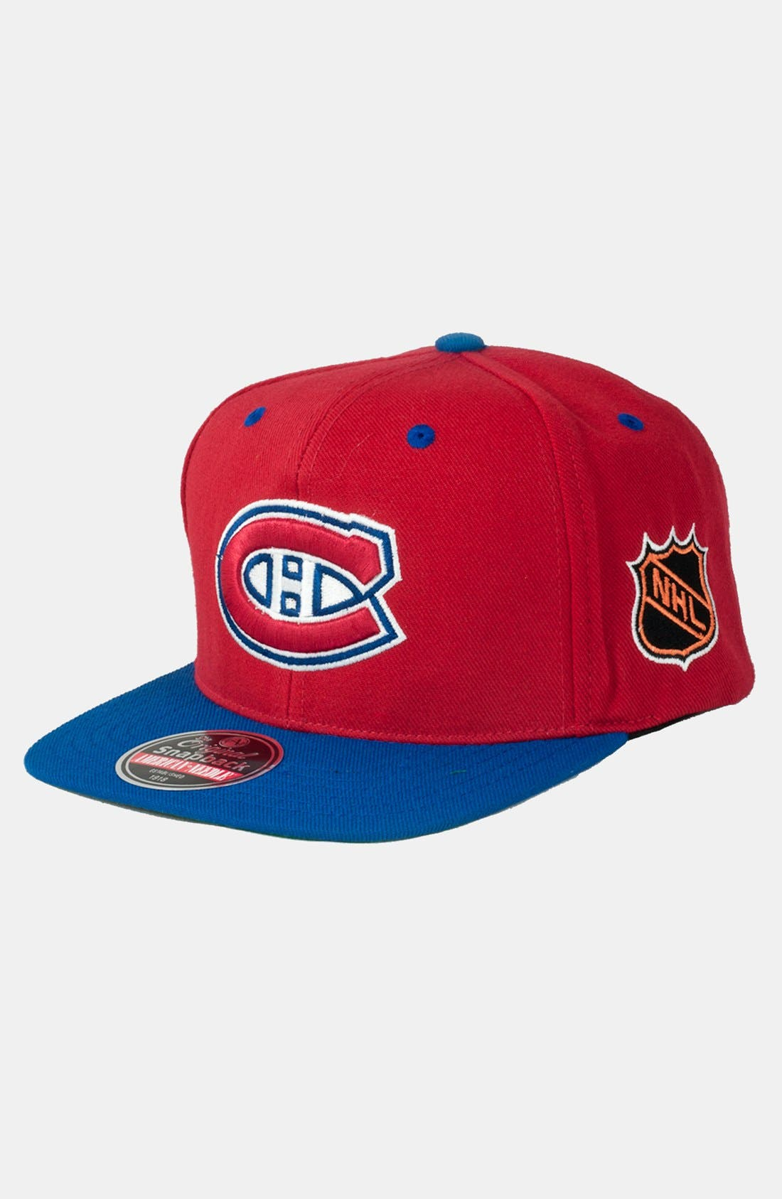 Alternate Image 1 Selected - American Needle 'Montreal Canadiens - Blockhead' Snapback Hockey Cap