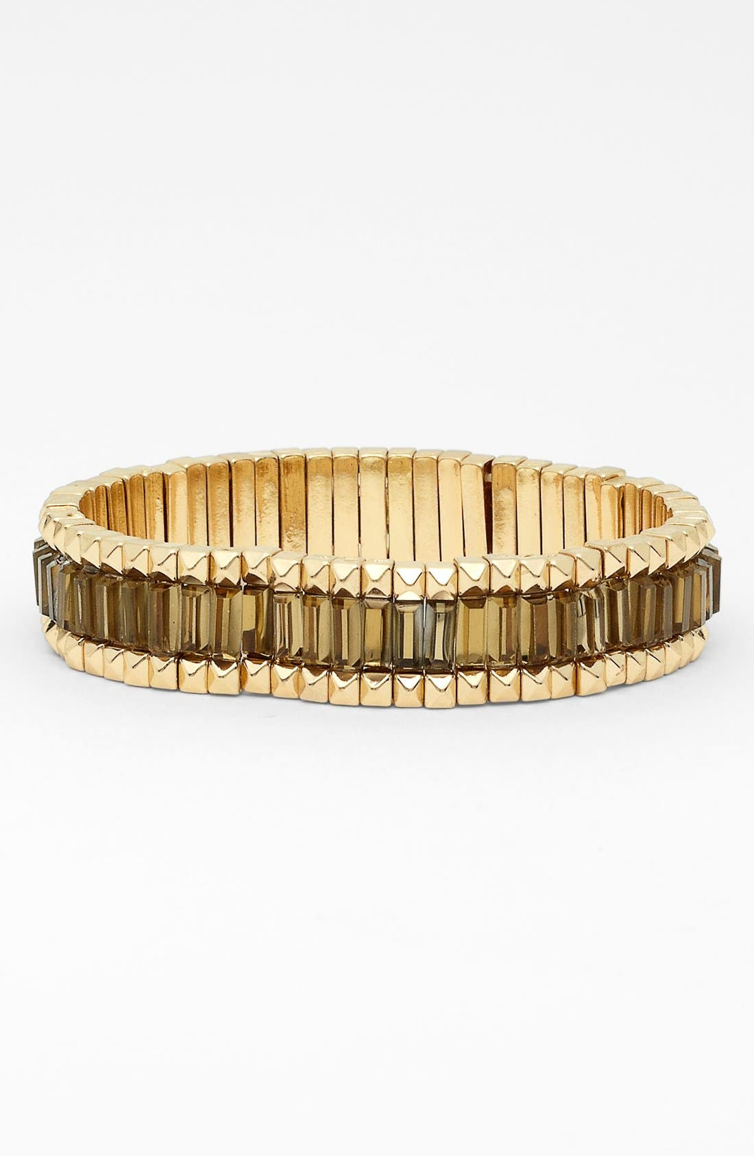 Alternate Image 1 Selected - Anne Klein Stretch Bracelet