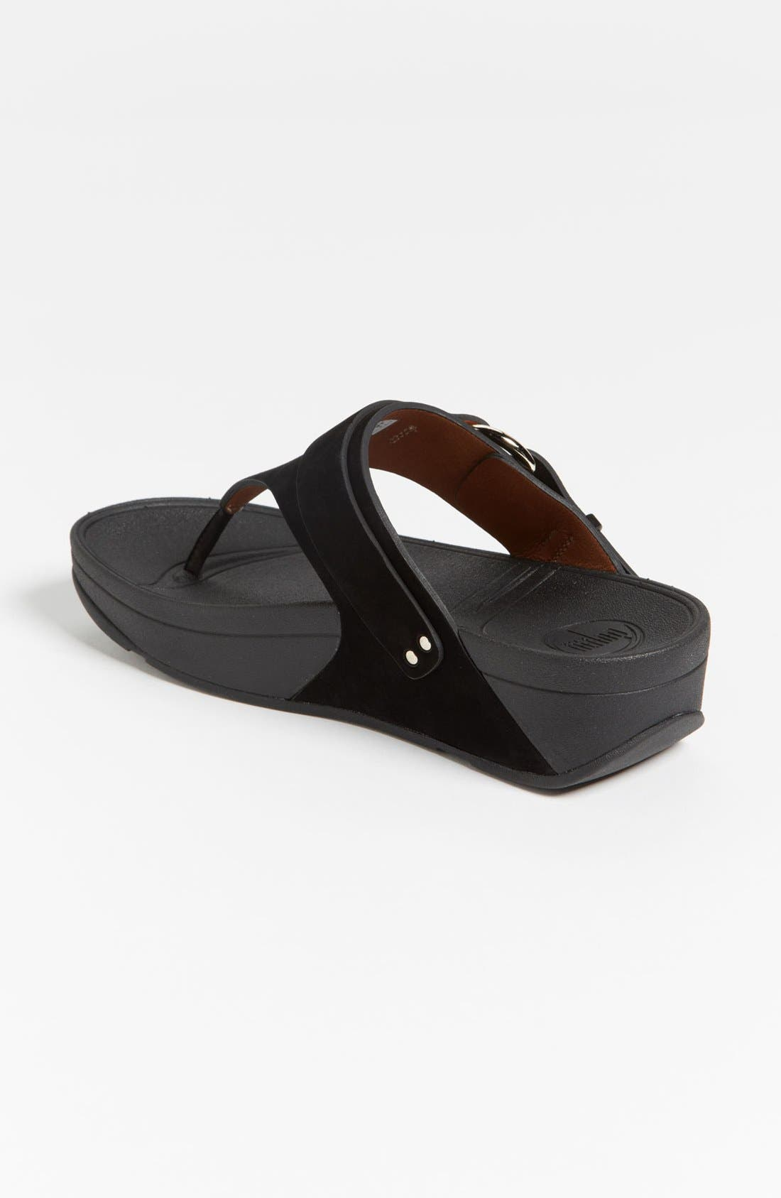 Alternate Image 2  - FitFlop 'Via™' Nubuck Sandal