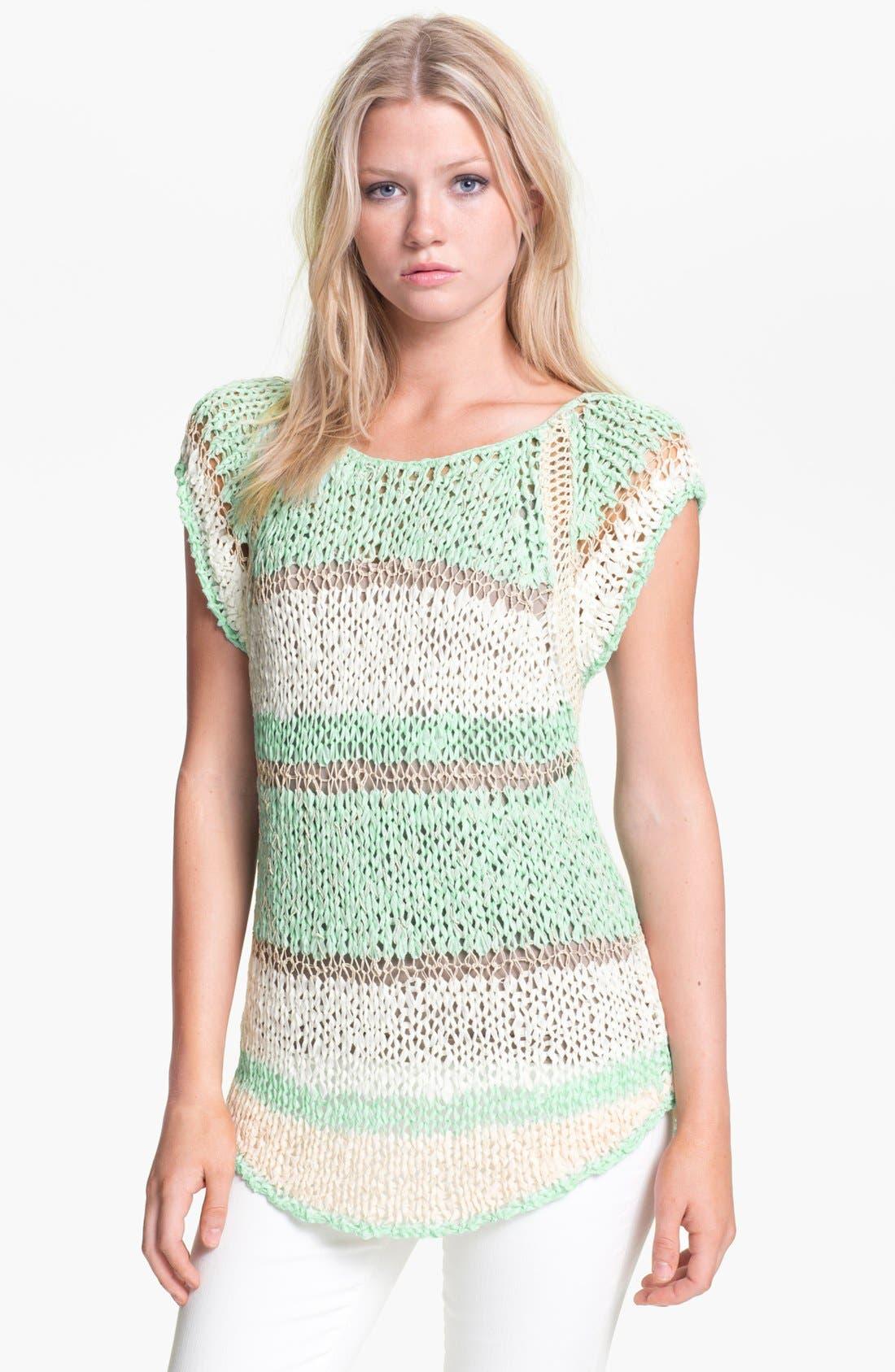 Alternate Image 1 Selected - Hinge® Mixed Yarn Sweater