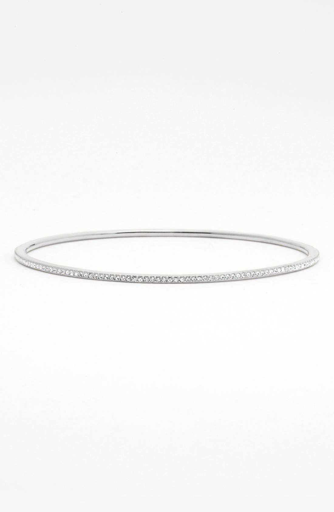 Main Image - Nadri Thin Prong Set Crystal Bangle