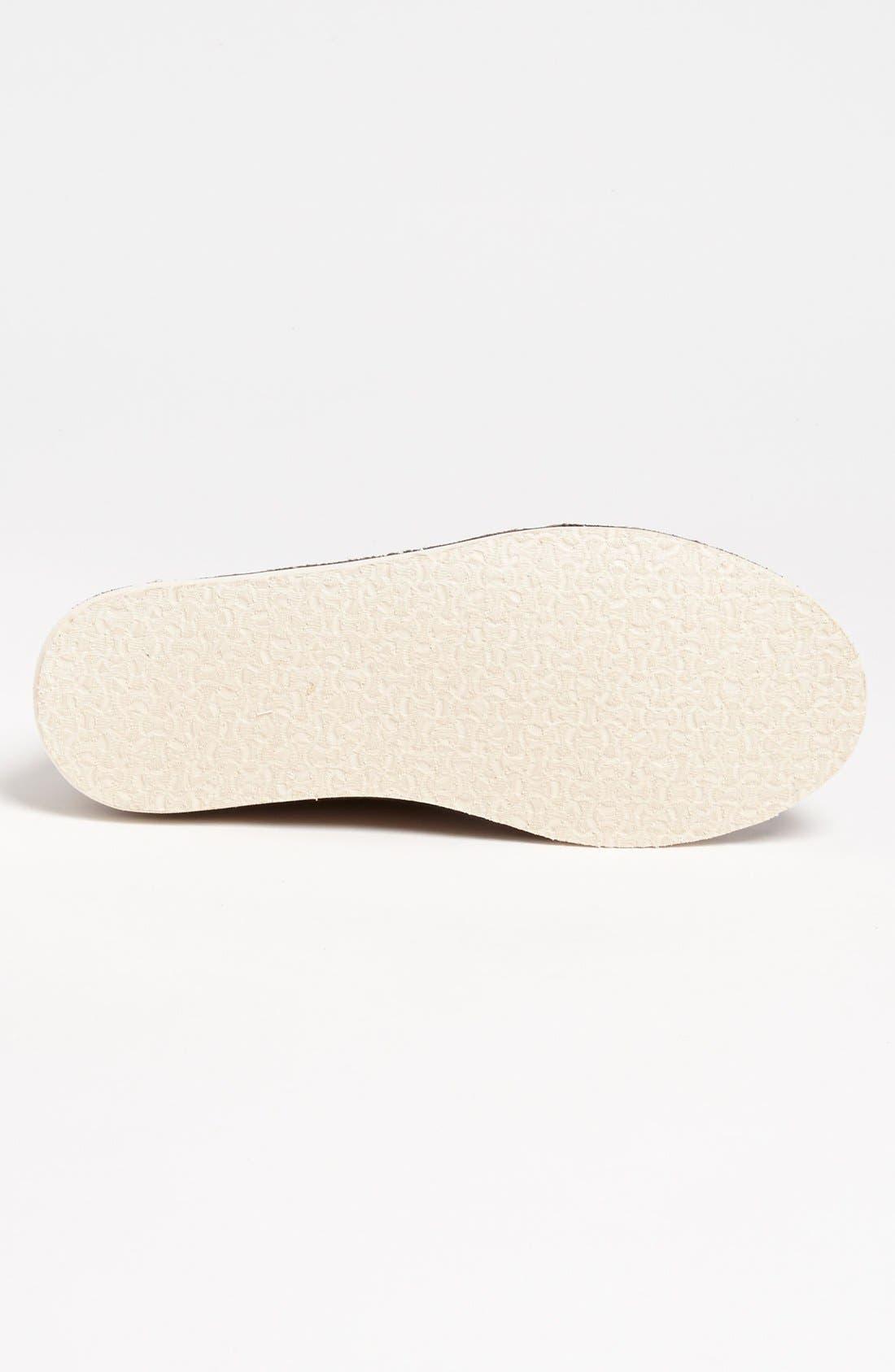 Alternate Image 4  - TOMS 'Desert' Perforated Suede Sneaker (Men)