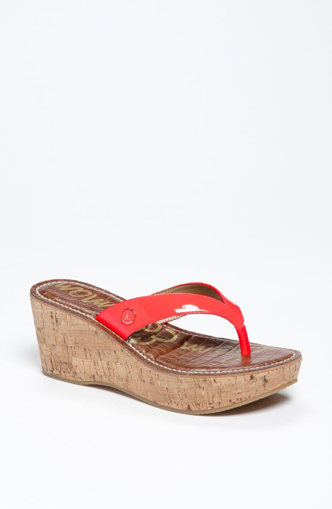 Alternate Image 1 Selected - Sam Edelman 'Romy' Wedge Sandal (Women)