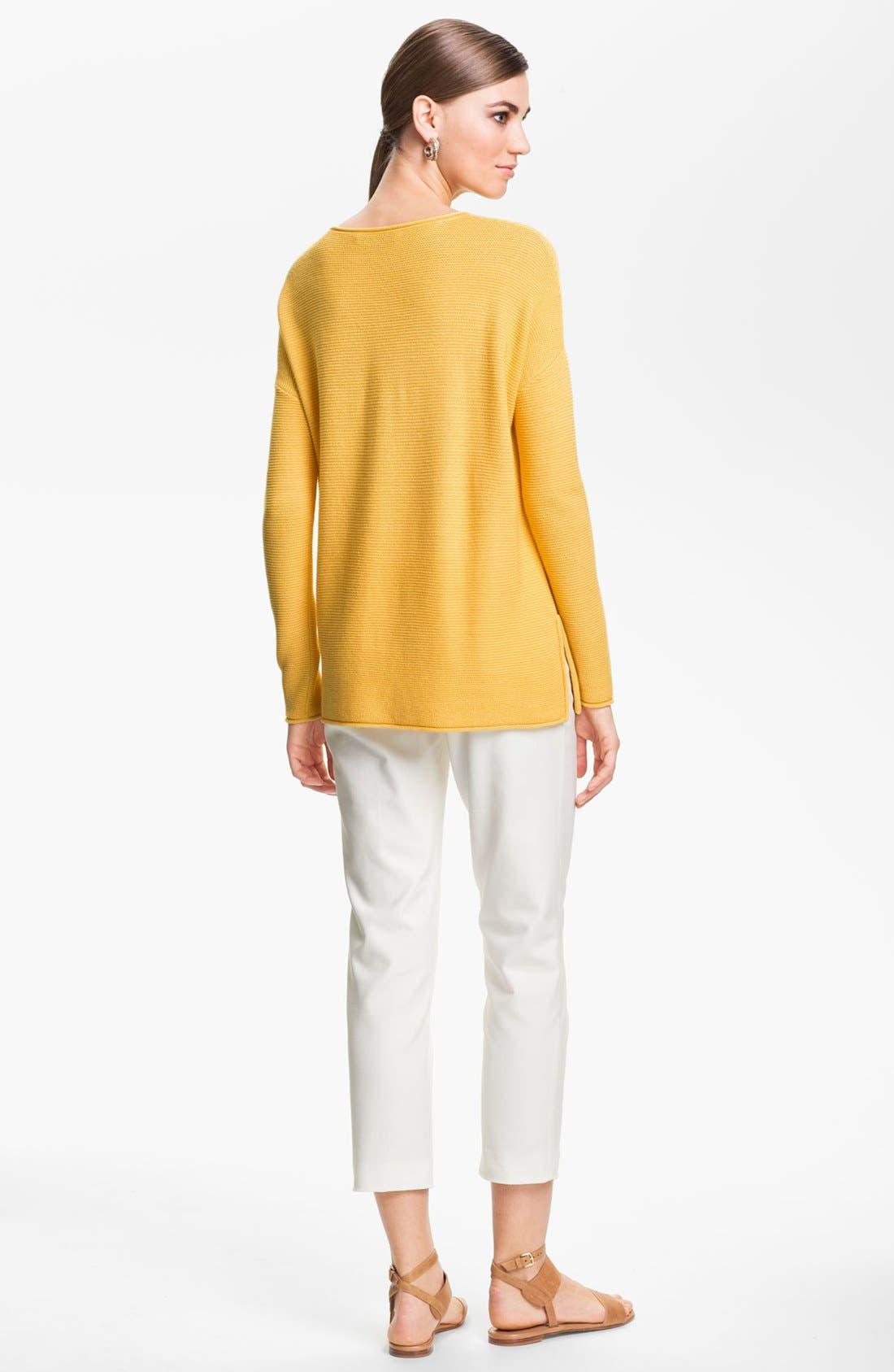 Alternate Image 3  - St. John Yellow Label Ottoman Knit Sweater