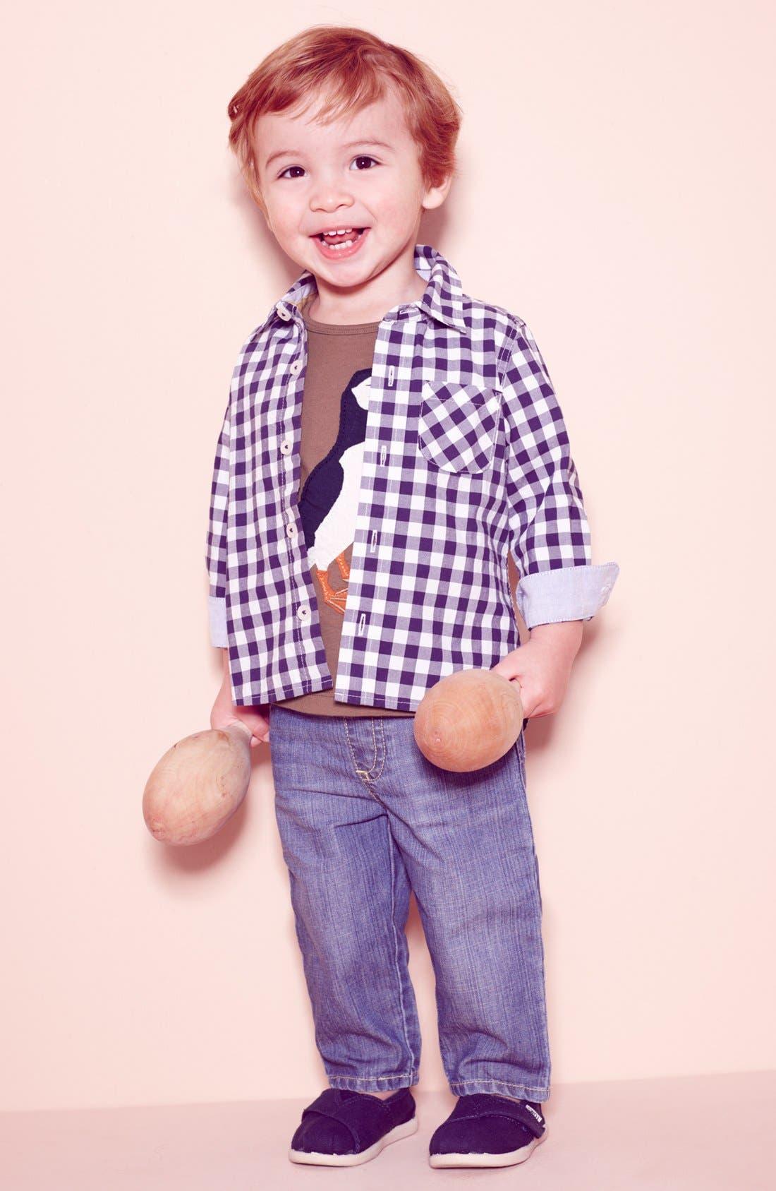 Alternate Image 2  - Mini Boden 'Big Appliqué' T-Shirt (Baby)