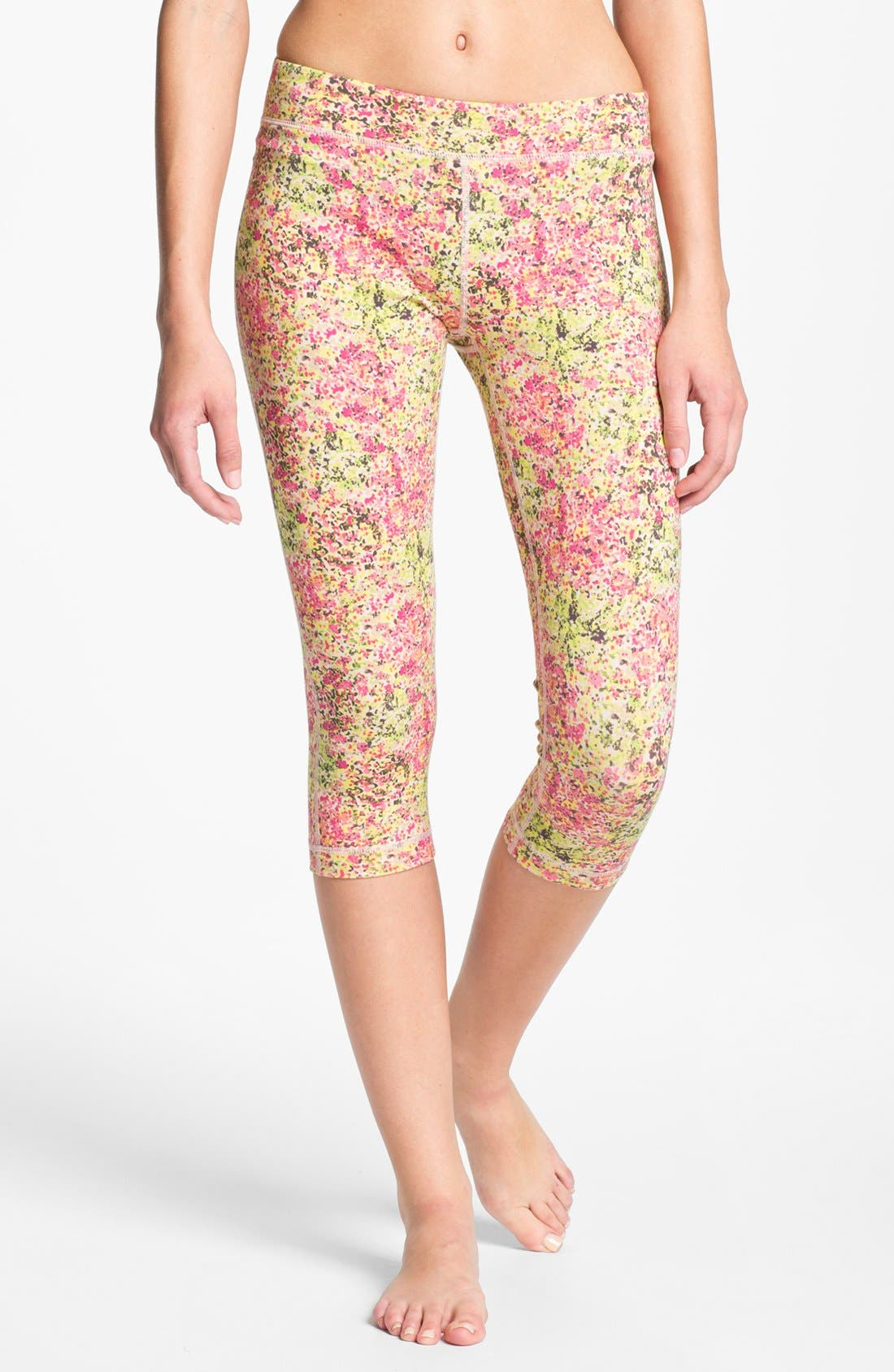 Alternate Image 1 Selected - Unit-Y 'Motivator' Pattern Capris