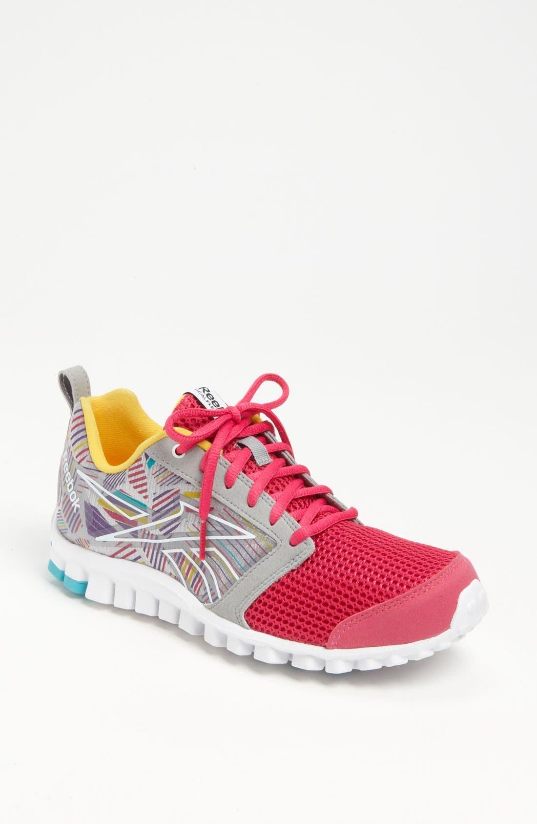 Alternate Image 1 Selected - Reebok 'RealFlex Scream 2.0' Running Shoe (Women)