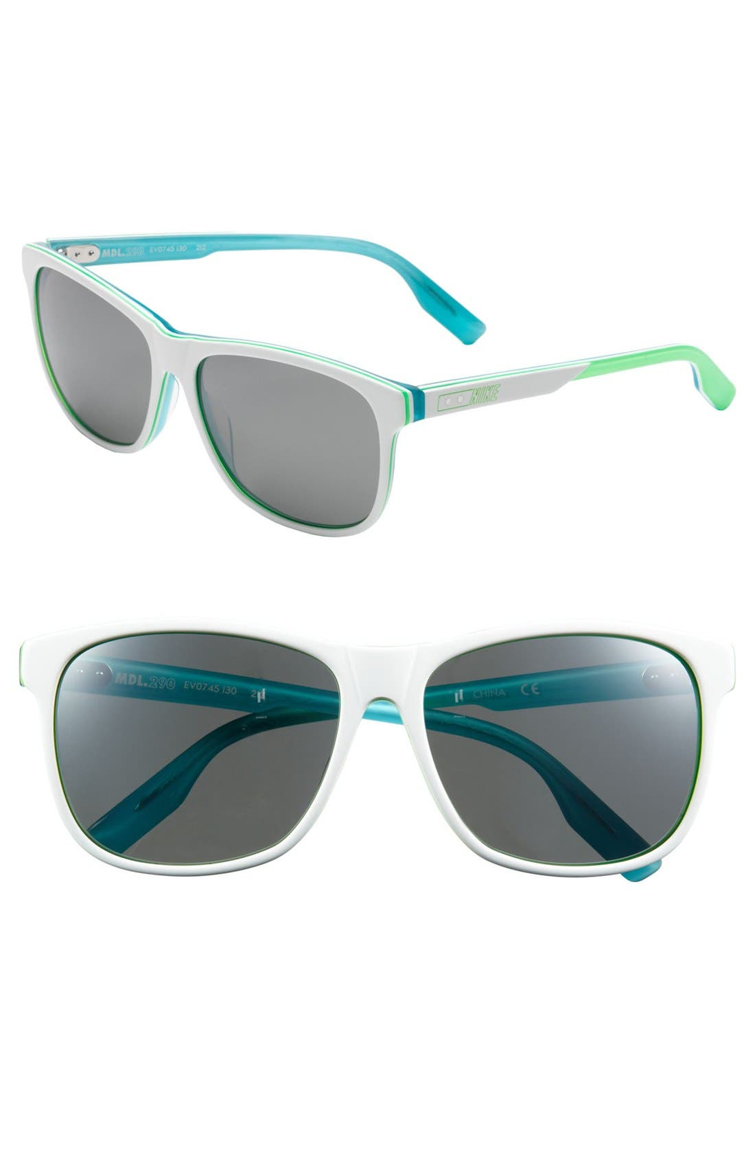 Alternate Image 1 Selected - Nike 'MDL. 290' 58mm Sunglasses