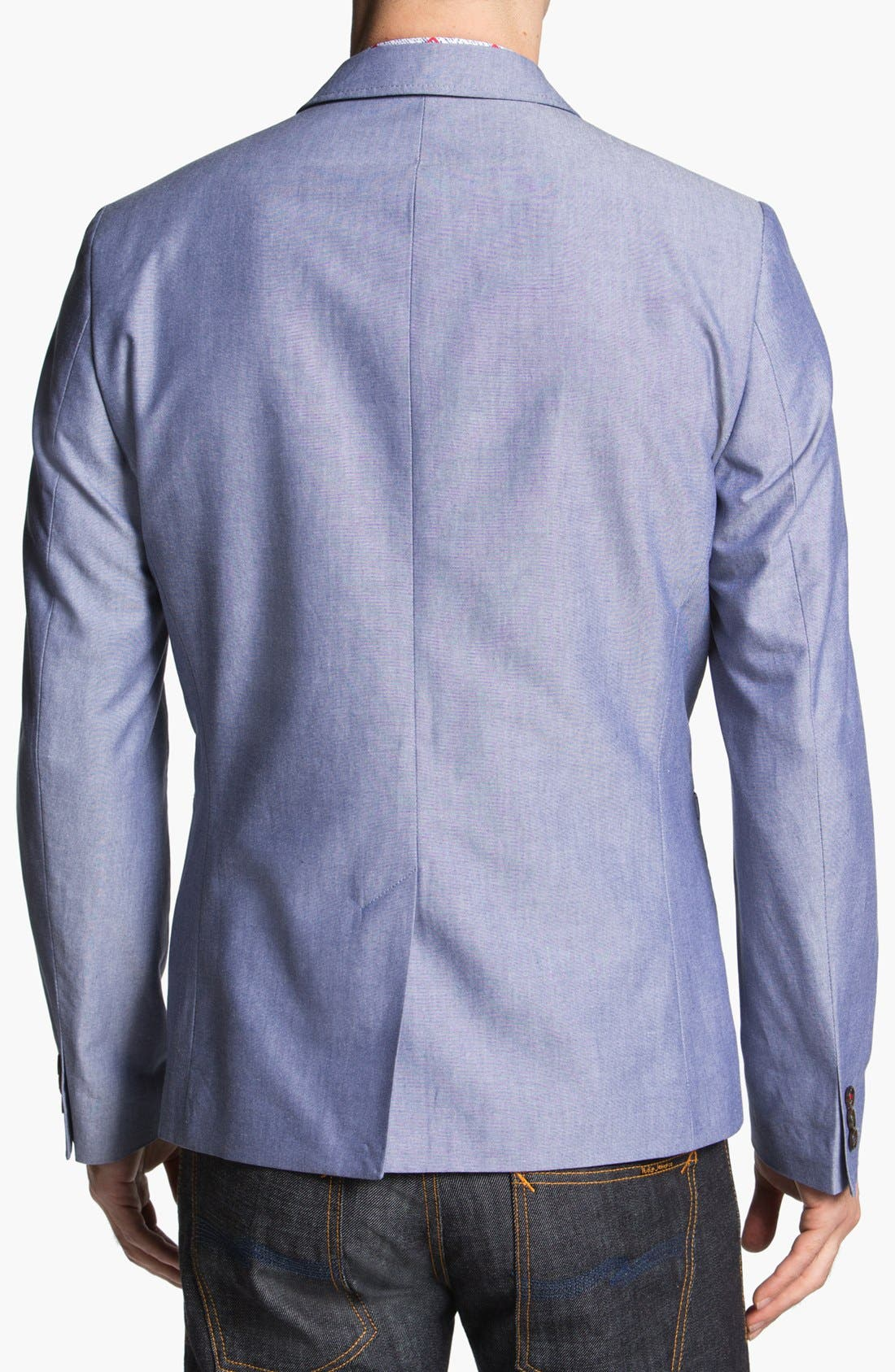 Alternate Image 2  - Ted Baker London 'Pheejack' Cotton Blazer