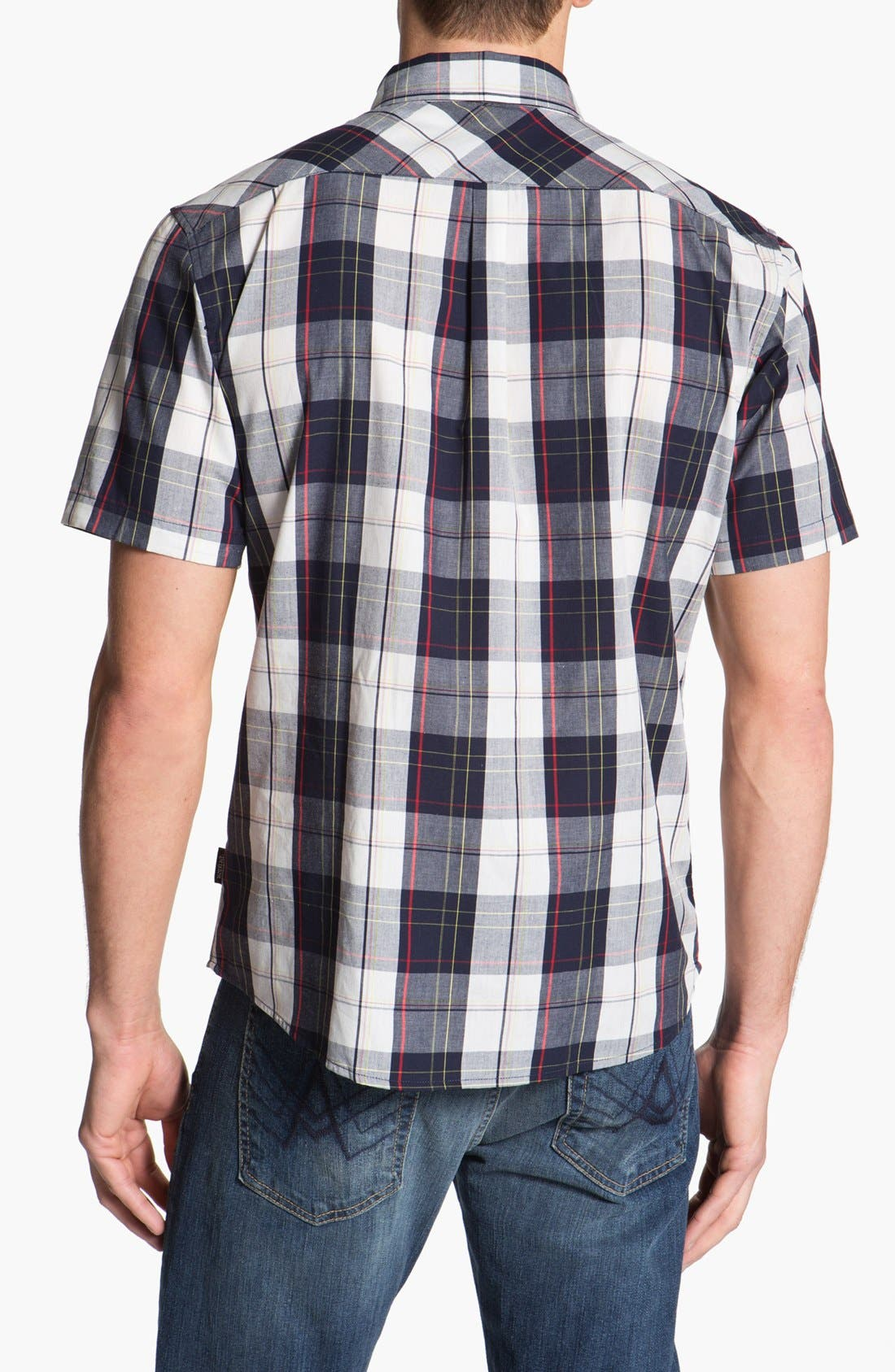 Alternate Image 3  - Brixton 'Lisbon' Short Sleeve Plaid Shirt