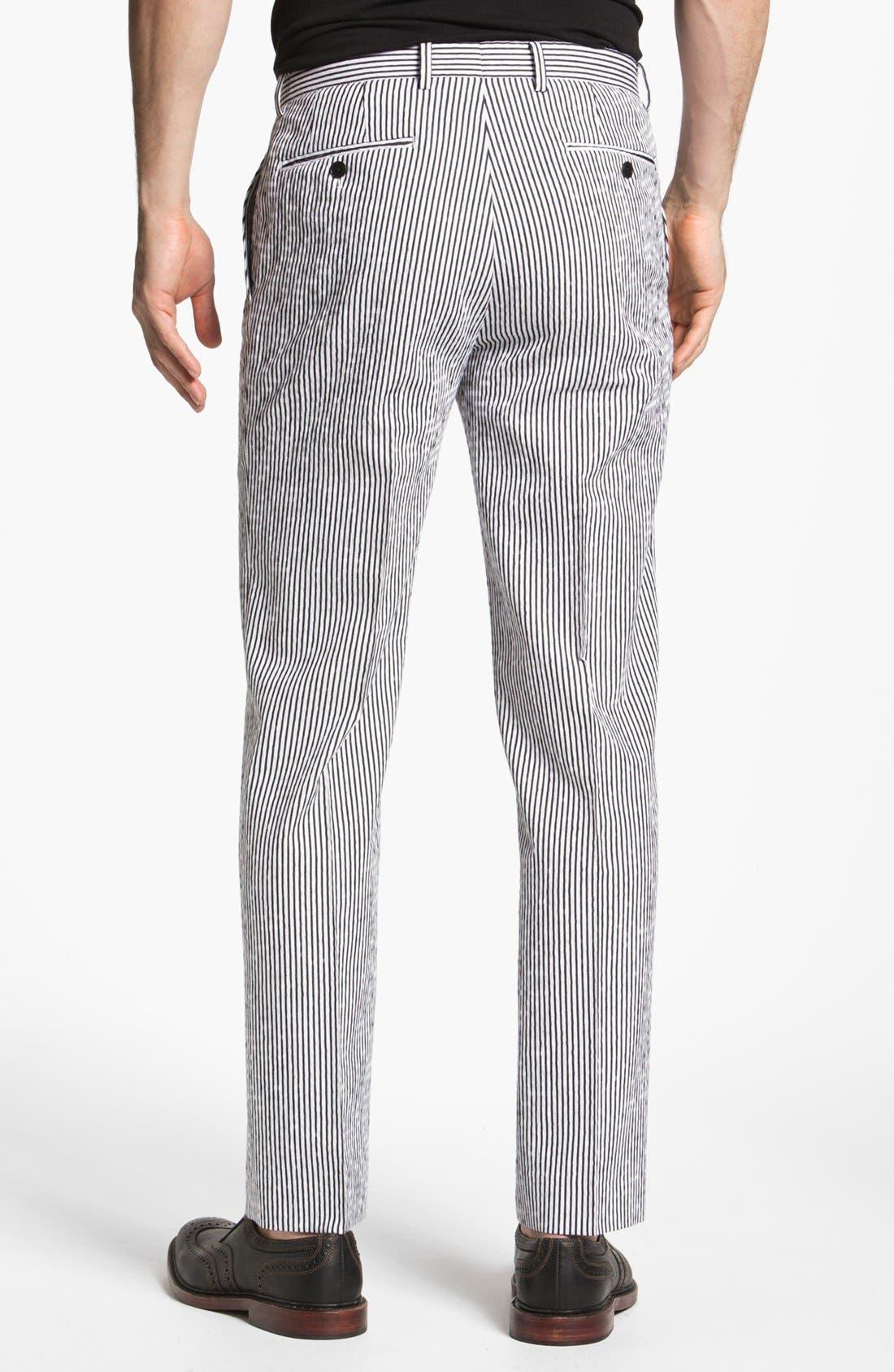 Alternate Image 2  - John Varvatos Star USA Red Label 'Petro' Striped Trousers