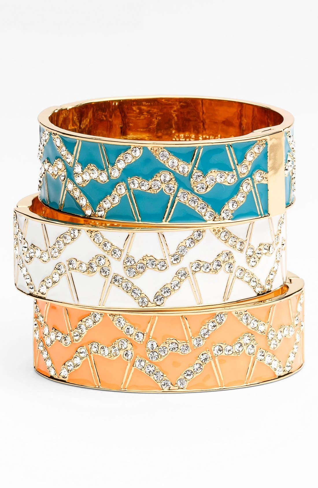 Alternate Image 2  - kate spade new york 'garden grove' hinged bangle