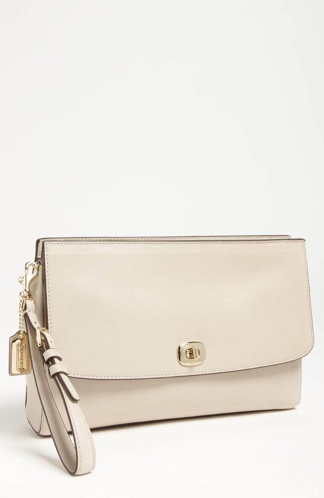 Alternate Image 1 Selected - COACH 'Legacy - Pinnacle' Leather Clutch