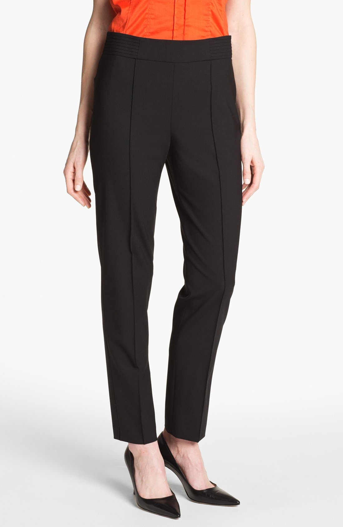 Alternate Image 1 Selected - BOSS 'Tubisa' Stretch Wool Trousers