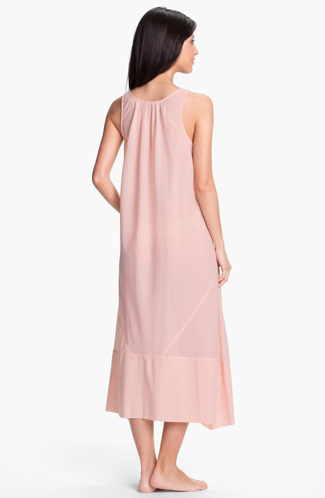 Alternate Image 2  - Donna Karan 'Casual Luxe' Nightgown