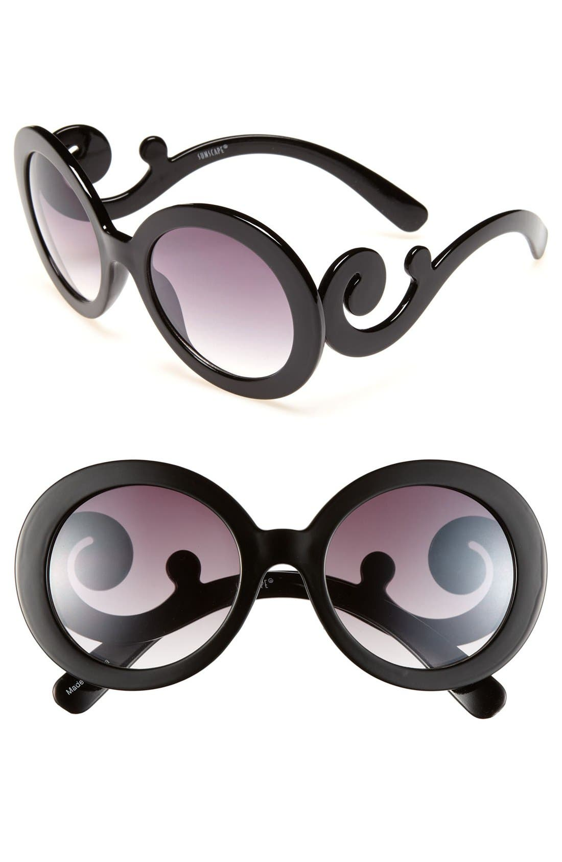 Alternate Image 1 Selected - BP. Glam Swirl Sunglasses