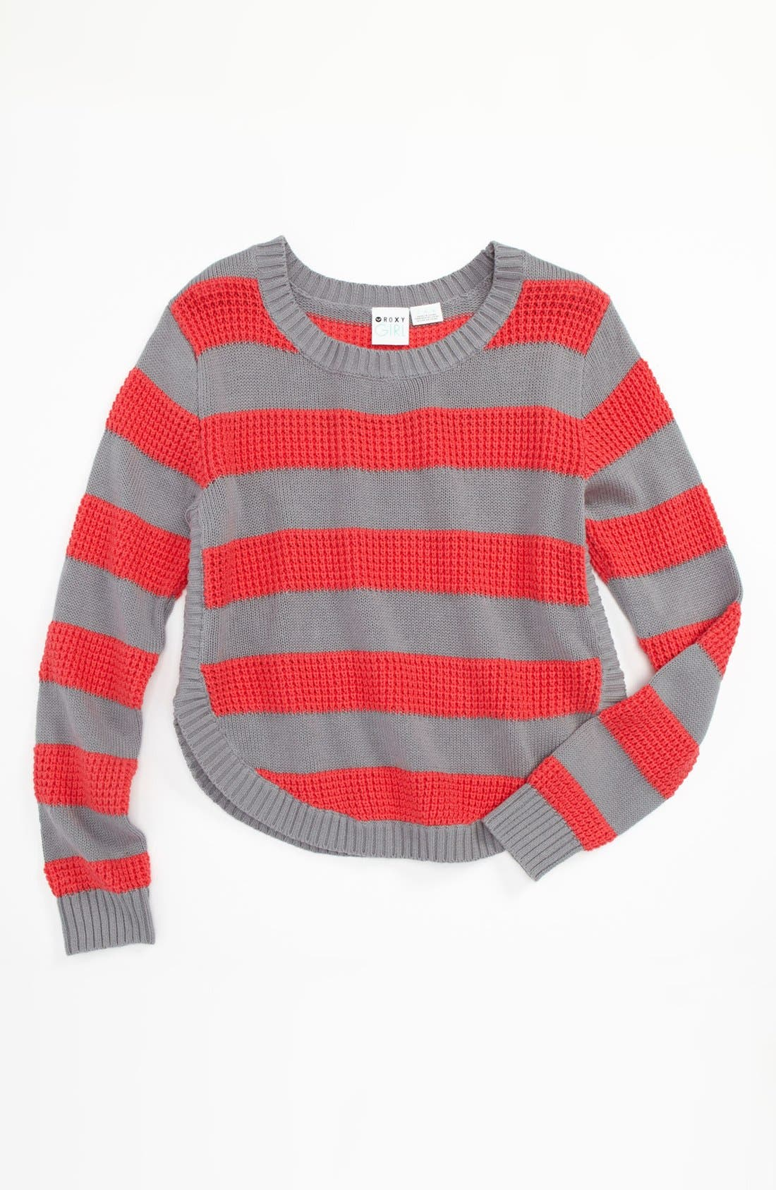 Alternate Image 1 Selected - 'Reach Out' Sweater (Big Girls)