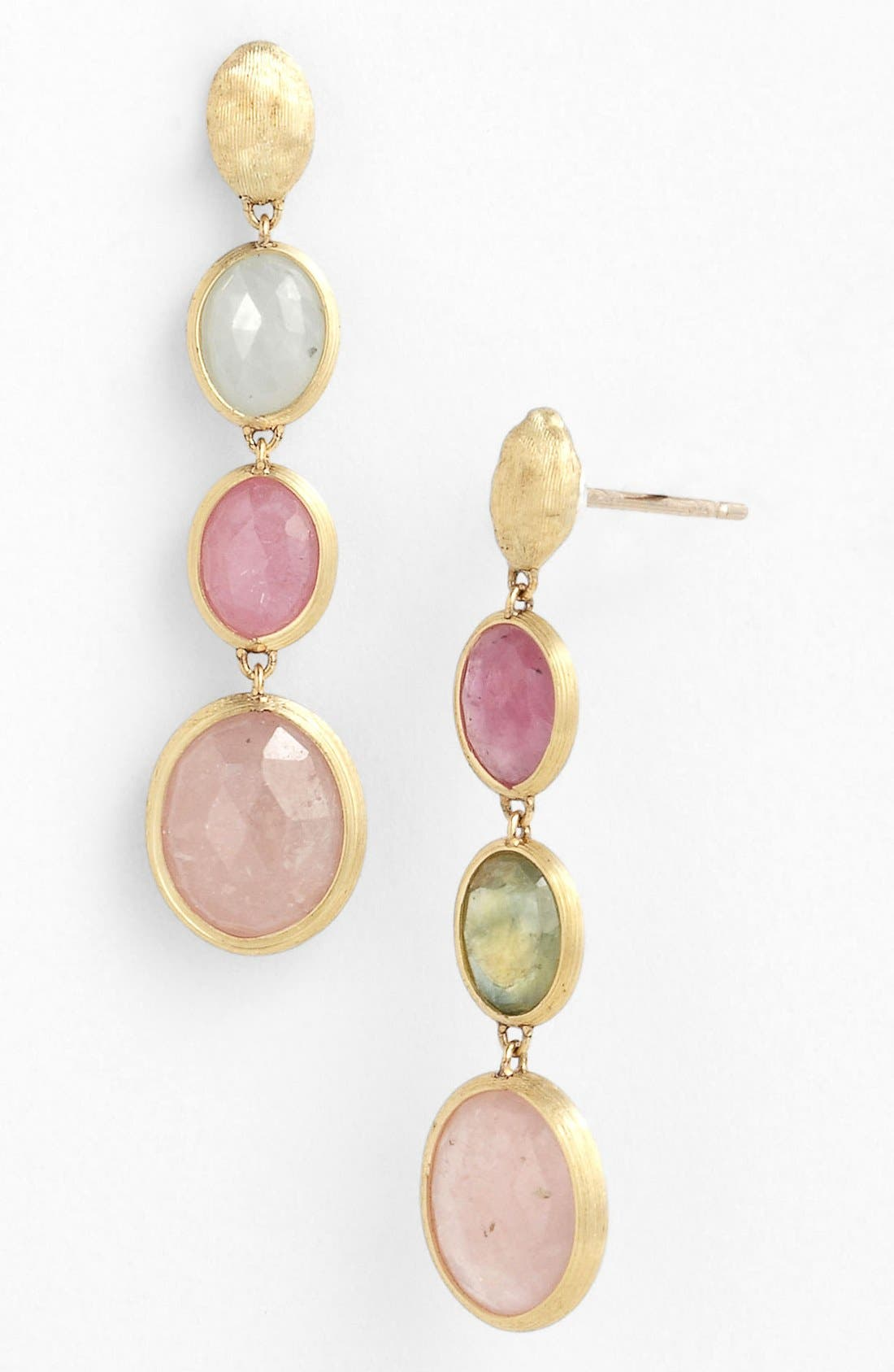 Alternate Image 1 Selected - Marco Bicego 'Siviglia' Stone Drop Earrings