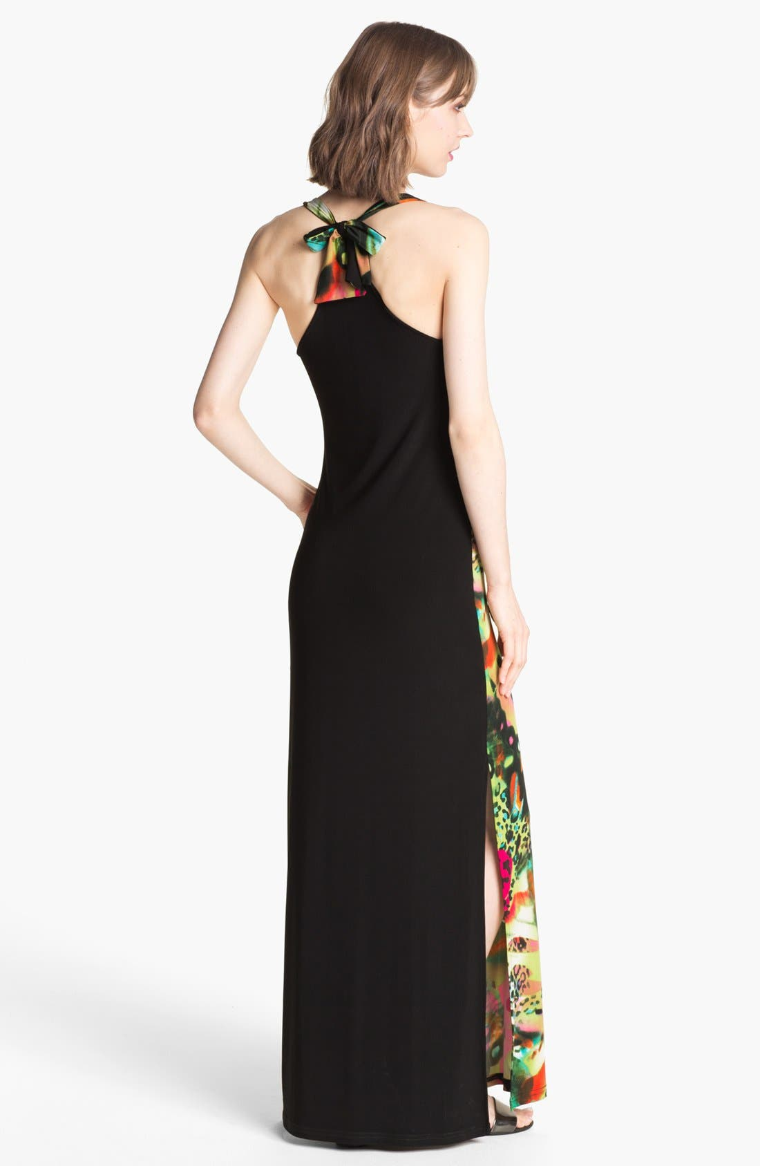 Alternate Image 2  - Abi Ferrin 'Eve' Print Jersey Maxi Dress