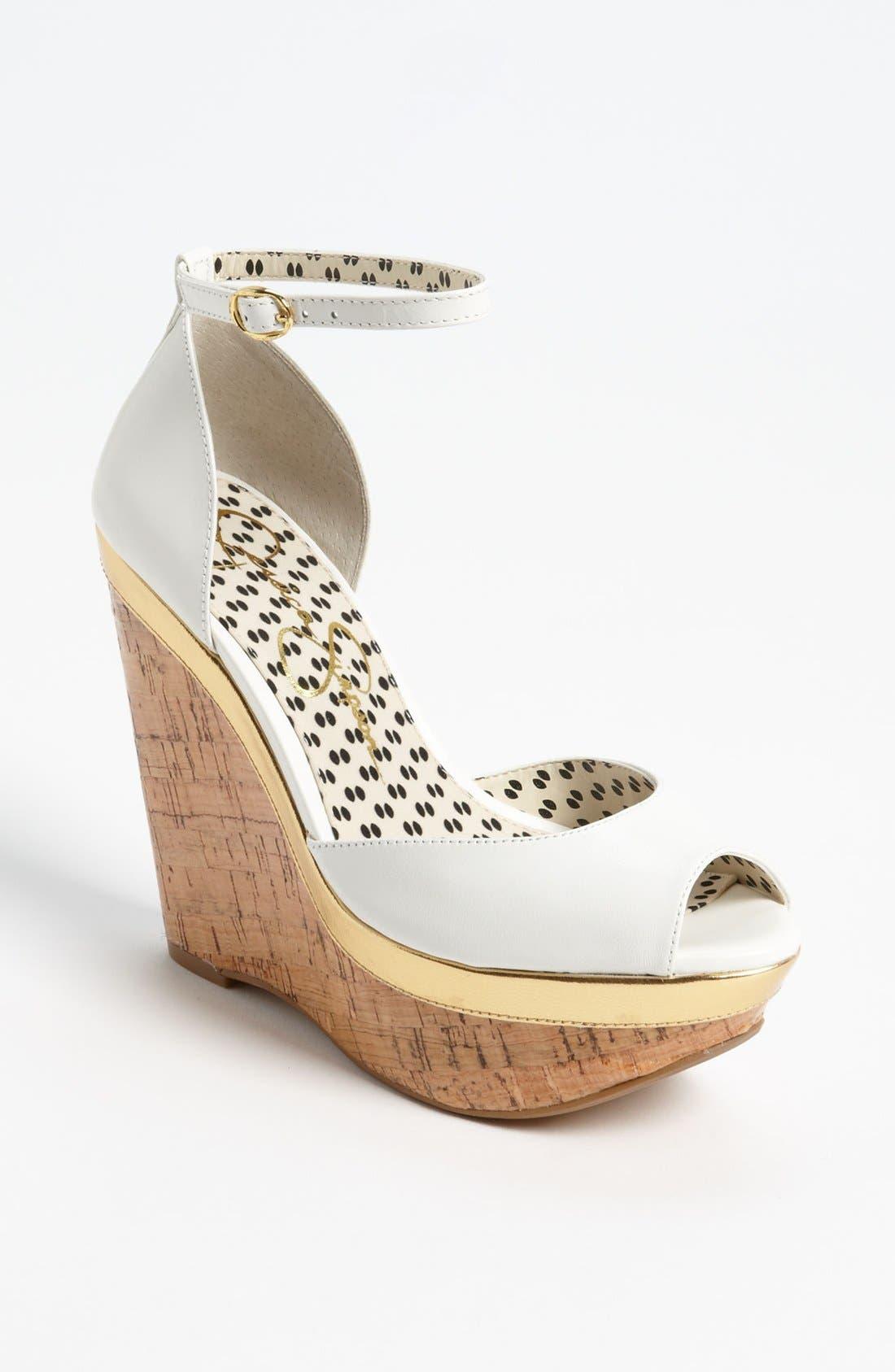 Alternate Image 1 Selected - Jessica Simpson 'Keira' Sandal