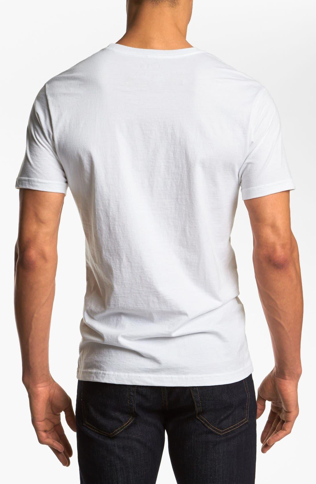 Alternate Image 2  - RVCA 'Halftone Hex' T-Shirt