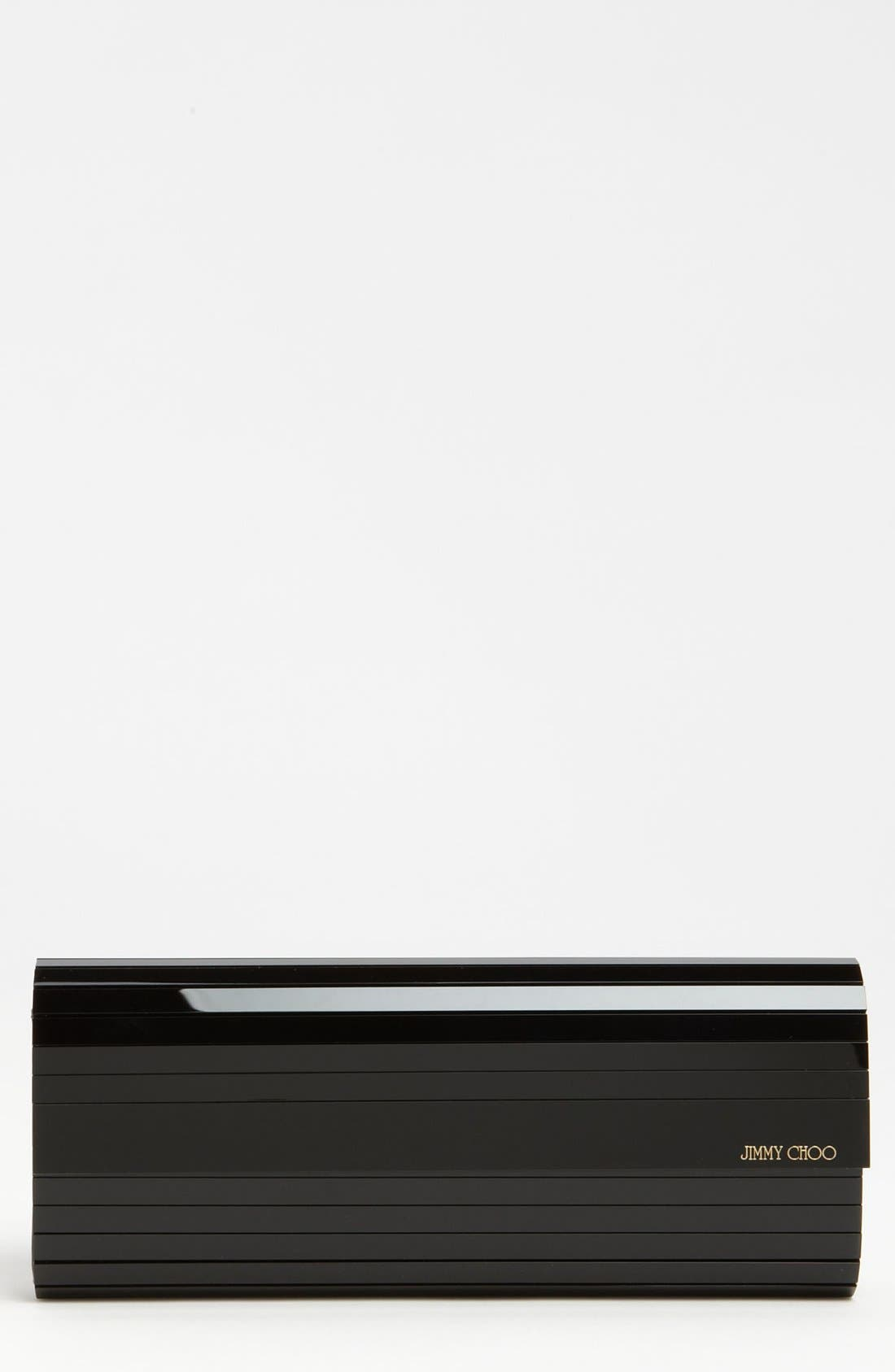 Alternate Image 1 Selected - Jimmy Choo 'Sweetie' Acrylic Clutch