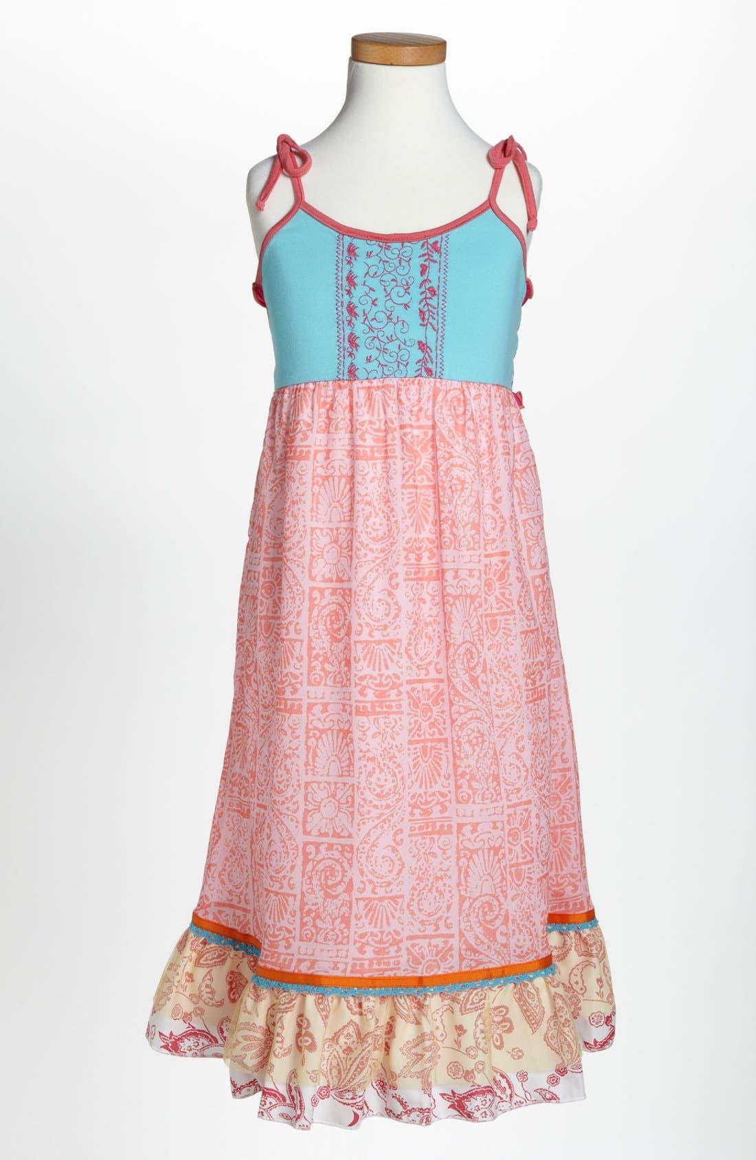 Alternate Image 1 Selected - Twirls & Twigs Maxi Dress (Little Girls)