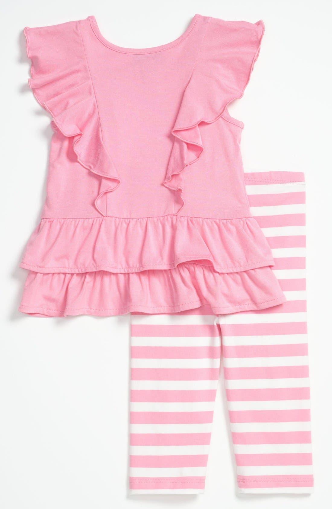 Alternate Image 2  - Juicy Couture Tunic & Leggings (Baby)