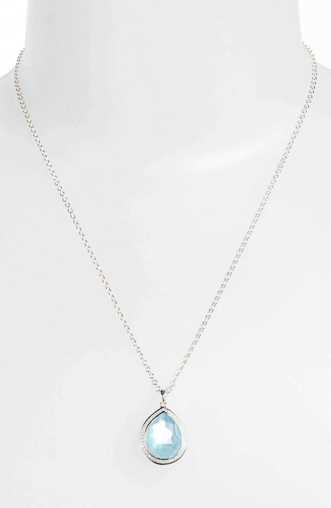 Ippolita 'Stella' Small Teardrop Pendant Necklace