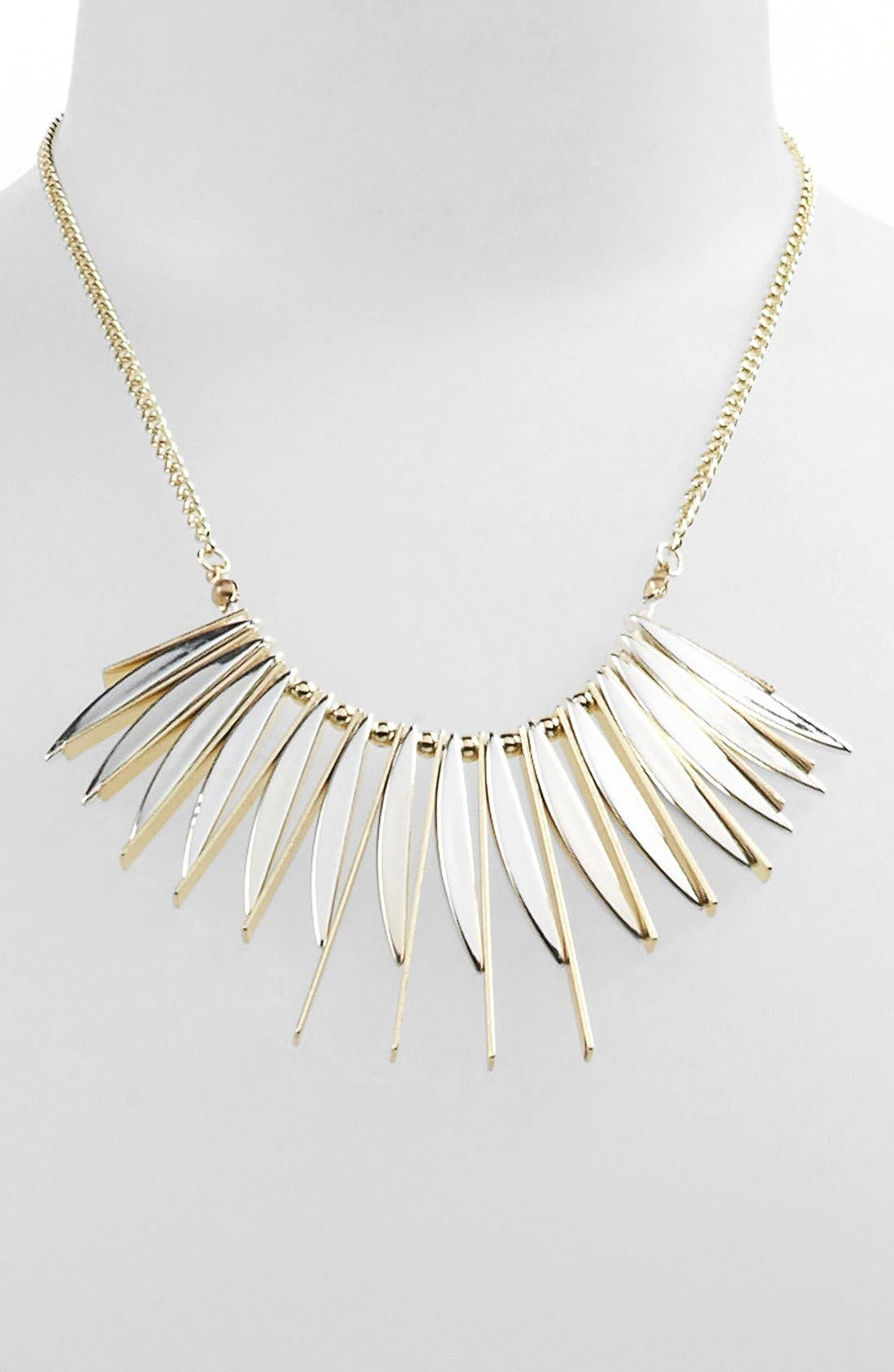 Alternate Image 1 Selected - Carole Spiked Necklace (Online Exclusive)