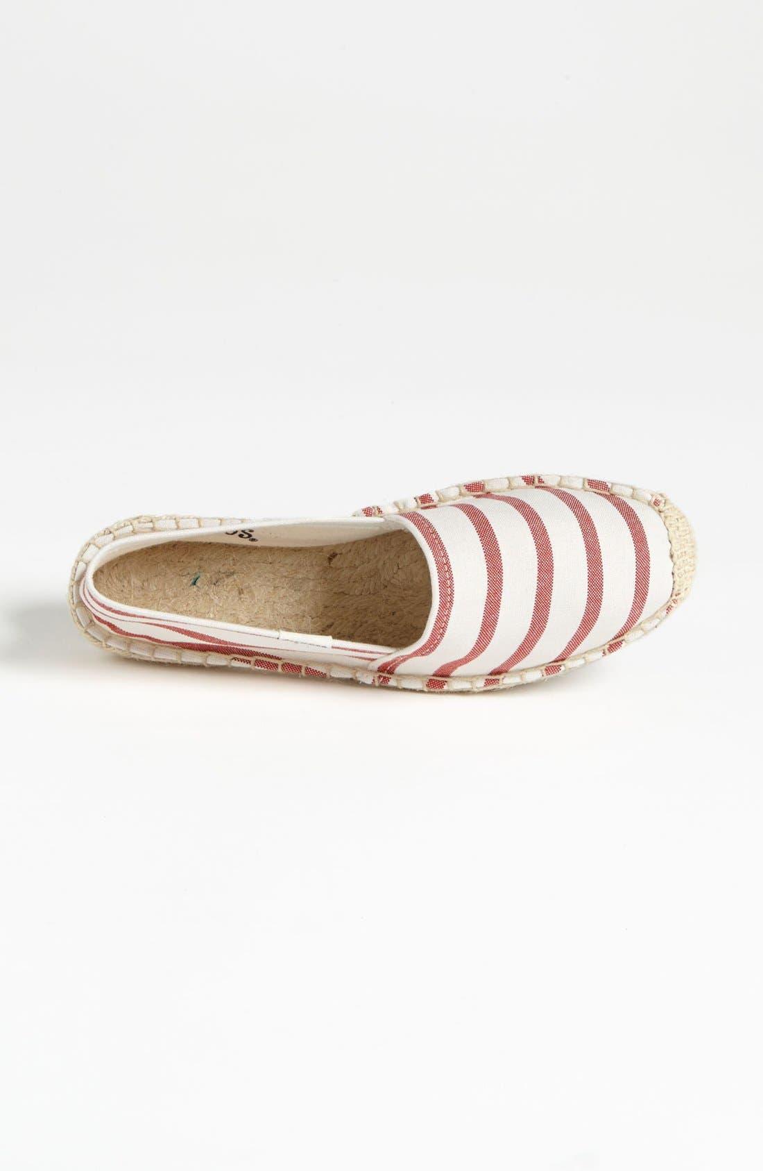 Alternate Image 3  - Soludos 'Classic - Stripe' Slip-On (Women)