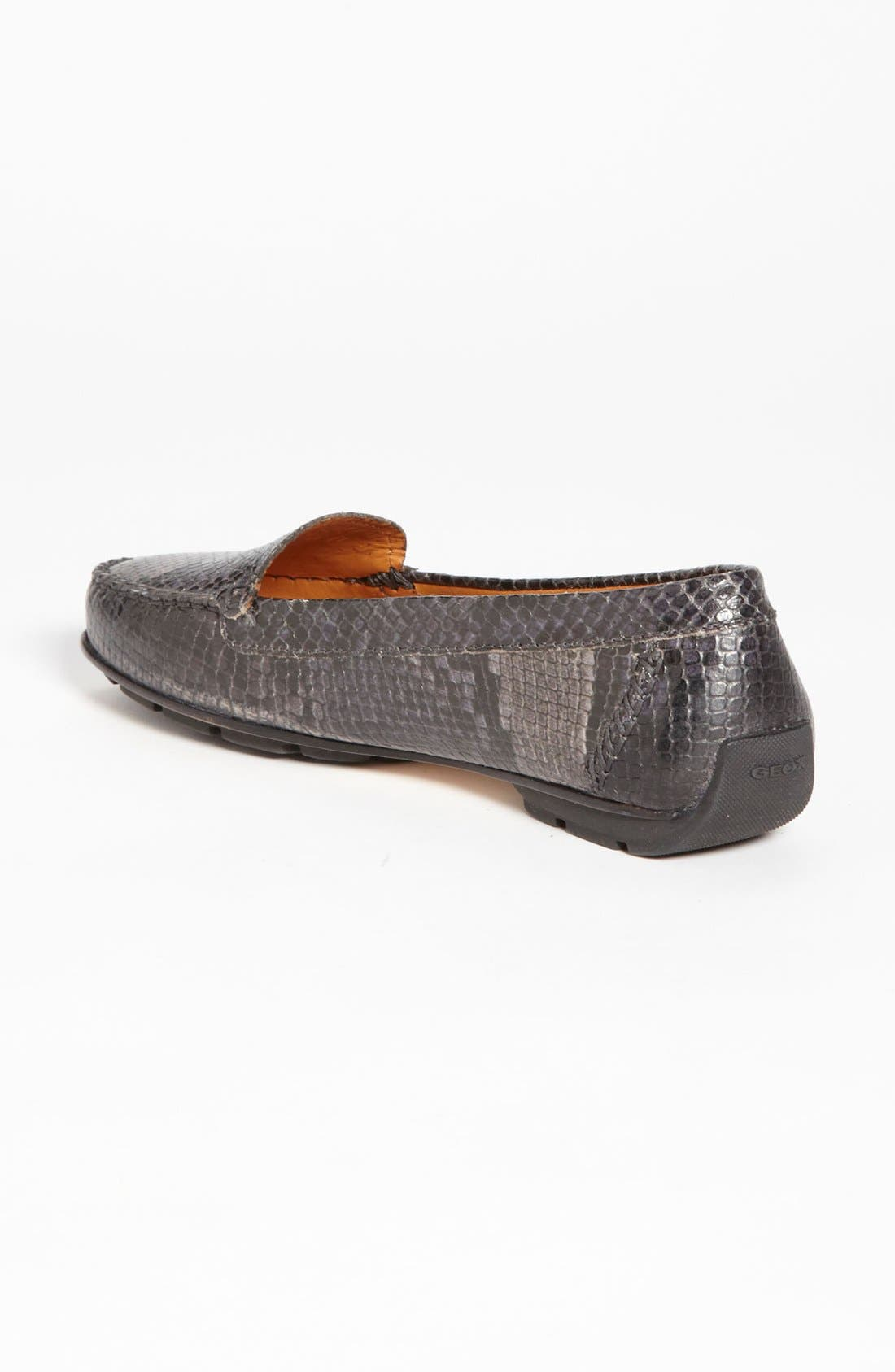 Alternate Image 2  - Geox 'Italy' Snake Embossed Moccasin (Online Only Color)