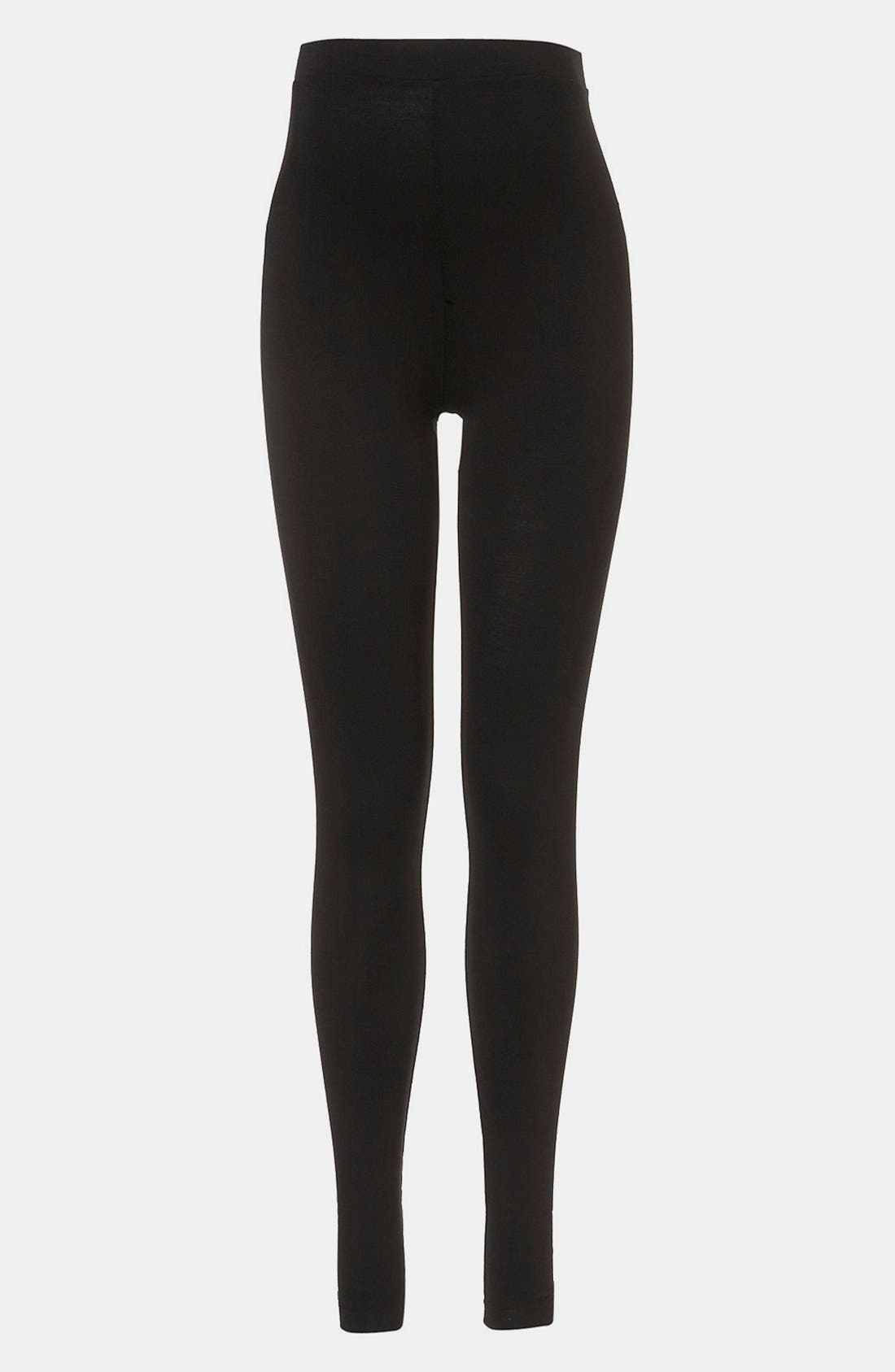 Alternate Image 1 Selected - Topshop Maternity High Waist Ankle Leggings