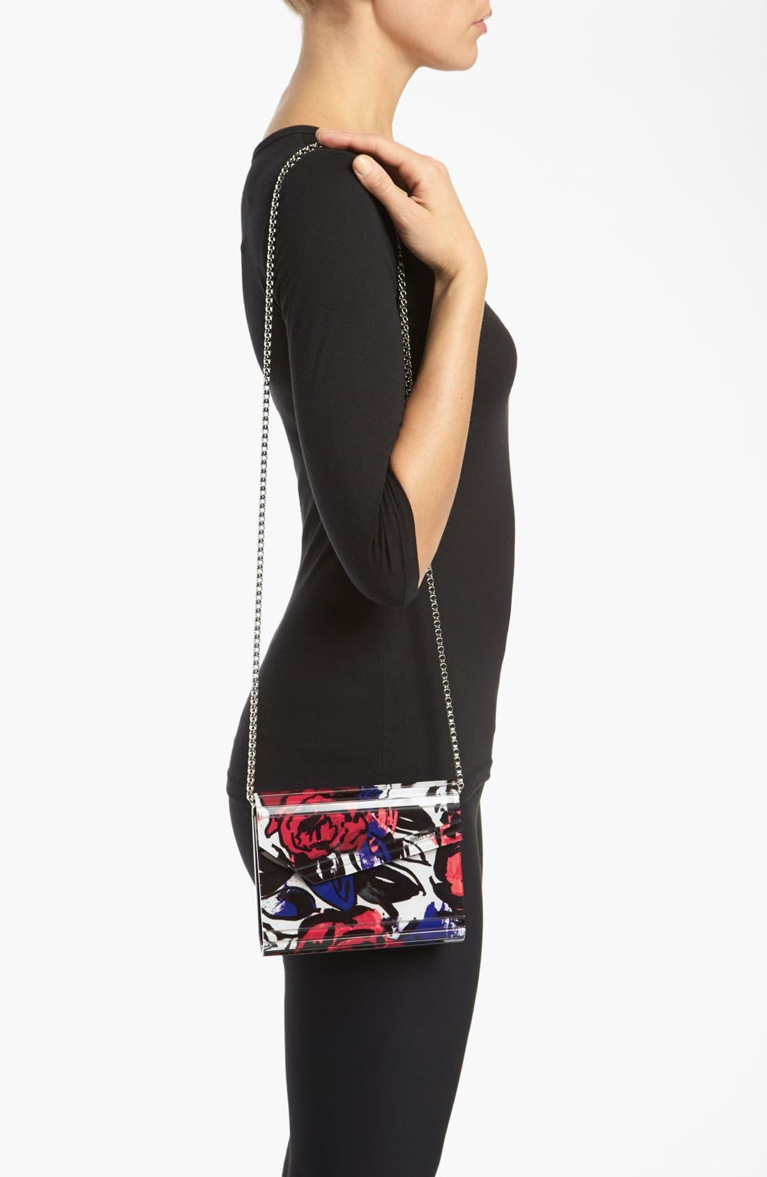 Alternate Image 2  - Jimmy Choo 'Candy' Floral Clutch