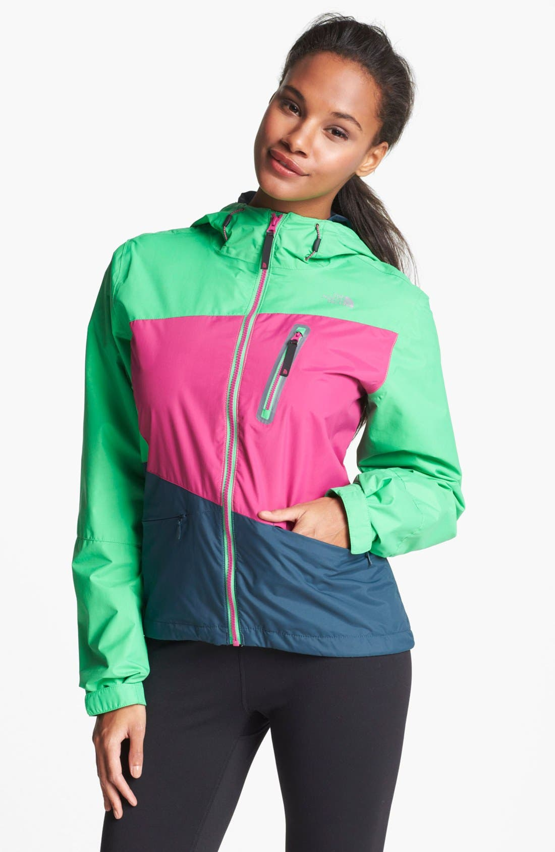 Alternate Image 1 Selected - The North Face 'Woodchip' Mountain Bike Jacket