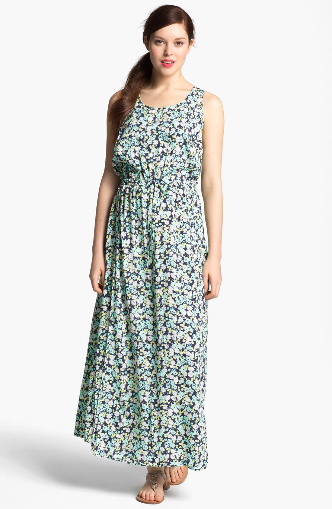 Main Image - Two by Vince Camuto Print Tank Maxi Dress