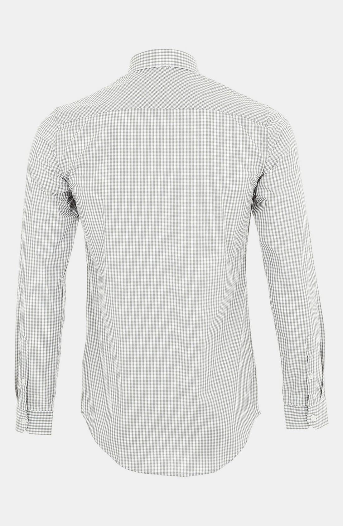 Alternate Image 2  - Topman Gingham Check Shirt
