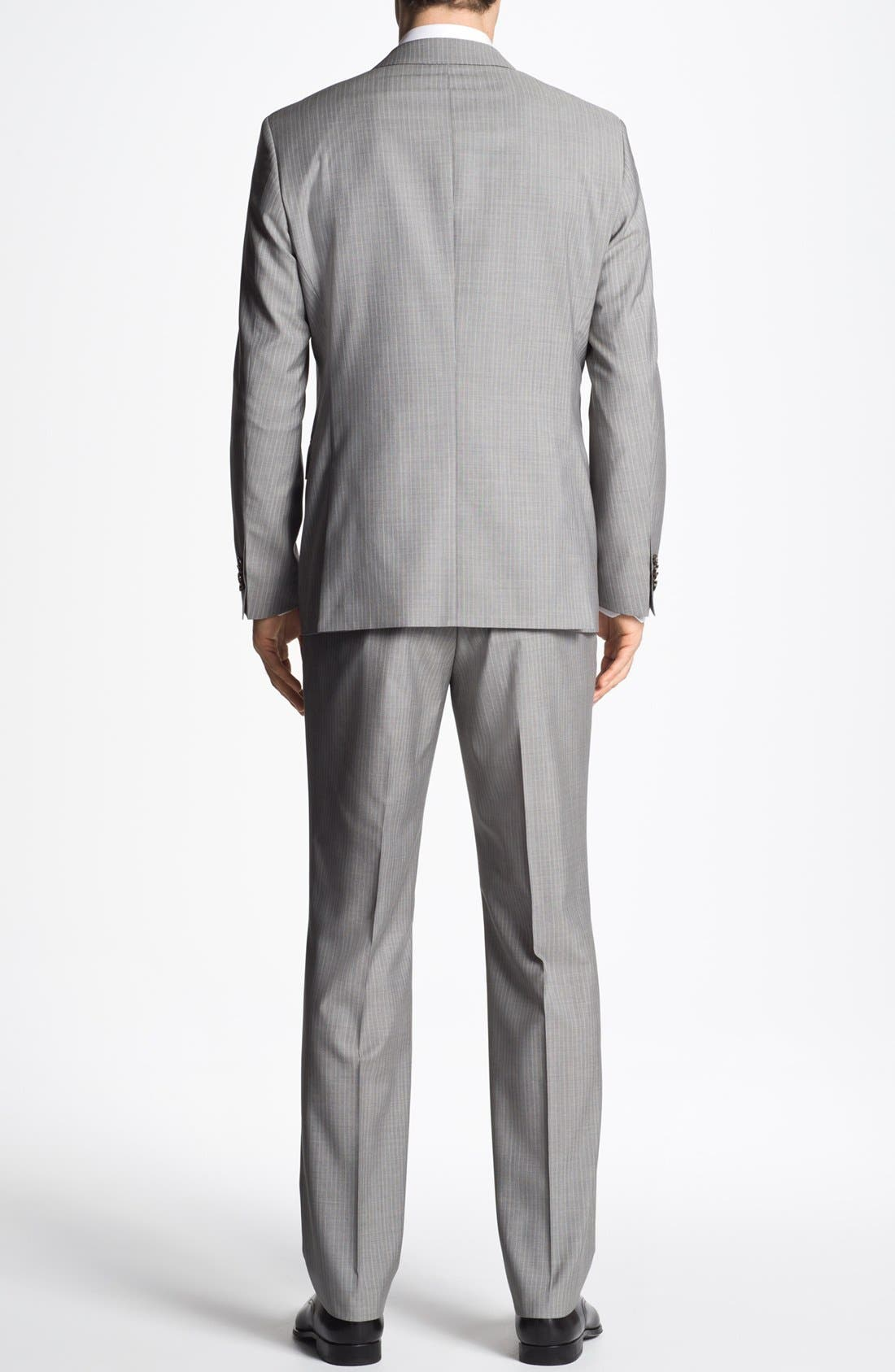 Alternate Image 3  - BOSS HUGO BOSS 'The Sweet/Sharp' Trim Fit Stripe Suit