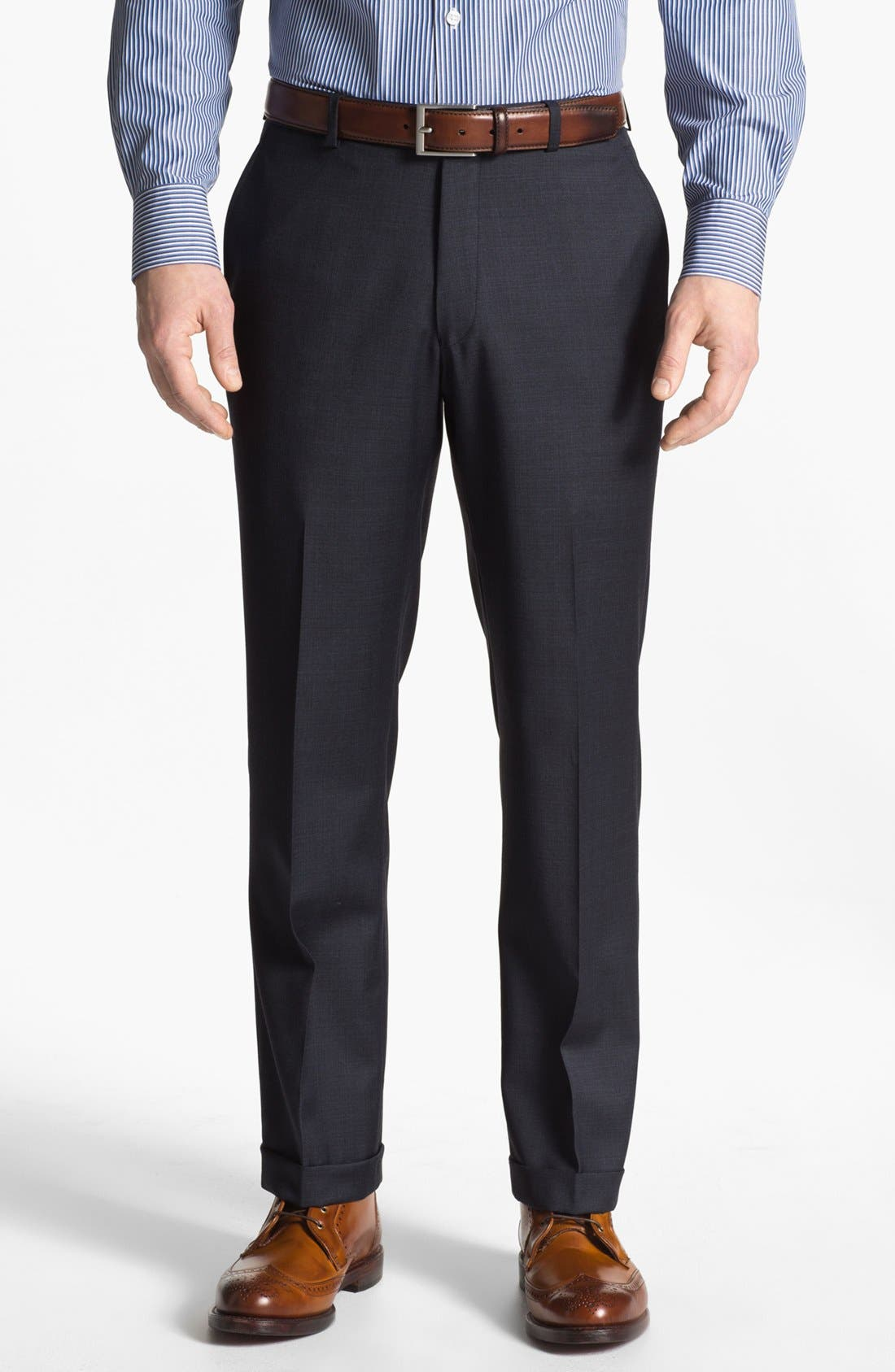 Alternate Image 5  - John Varvatos Star USA 'Townshend' Trim Fit Wool Suit