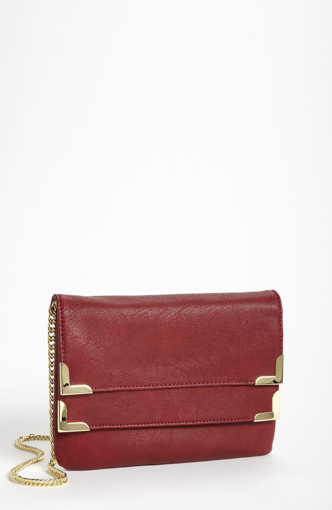 Alternate Image 1 Selected - Danielle Nicole Faux Leather Clutch