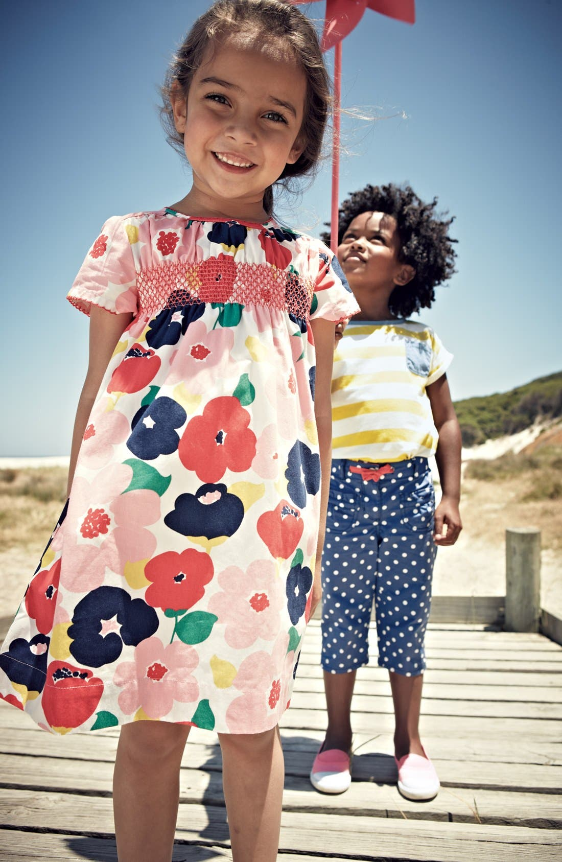 Alternate Image 2  - Mini Boden Dress (Toddler Girls)
