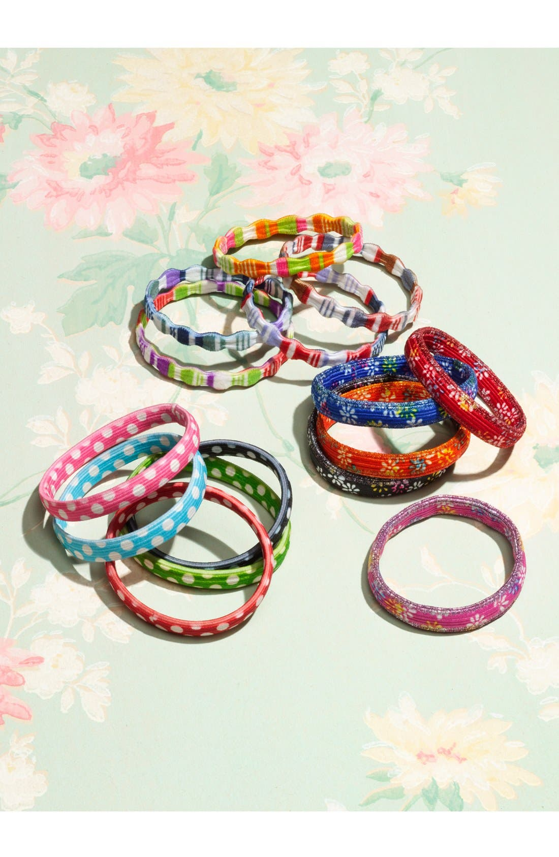 Alternate Image 2  - Tasha 'Daisy' Hair Ties (Set of 5)