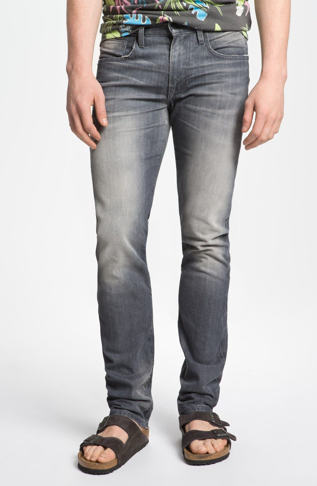 Alternate Image 2  - Joe's 'Slim' Skinny Fit Selvedge Jeans (Briggs)