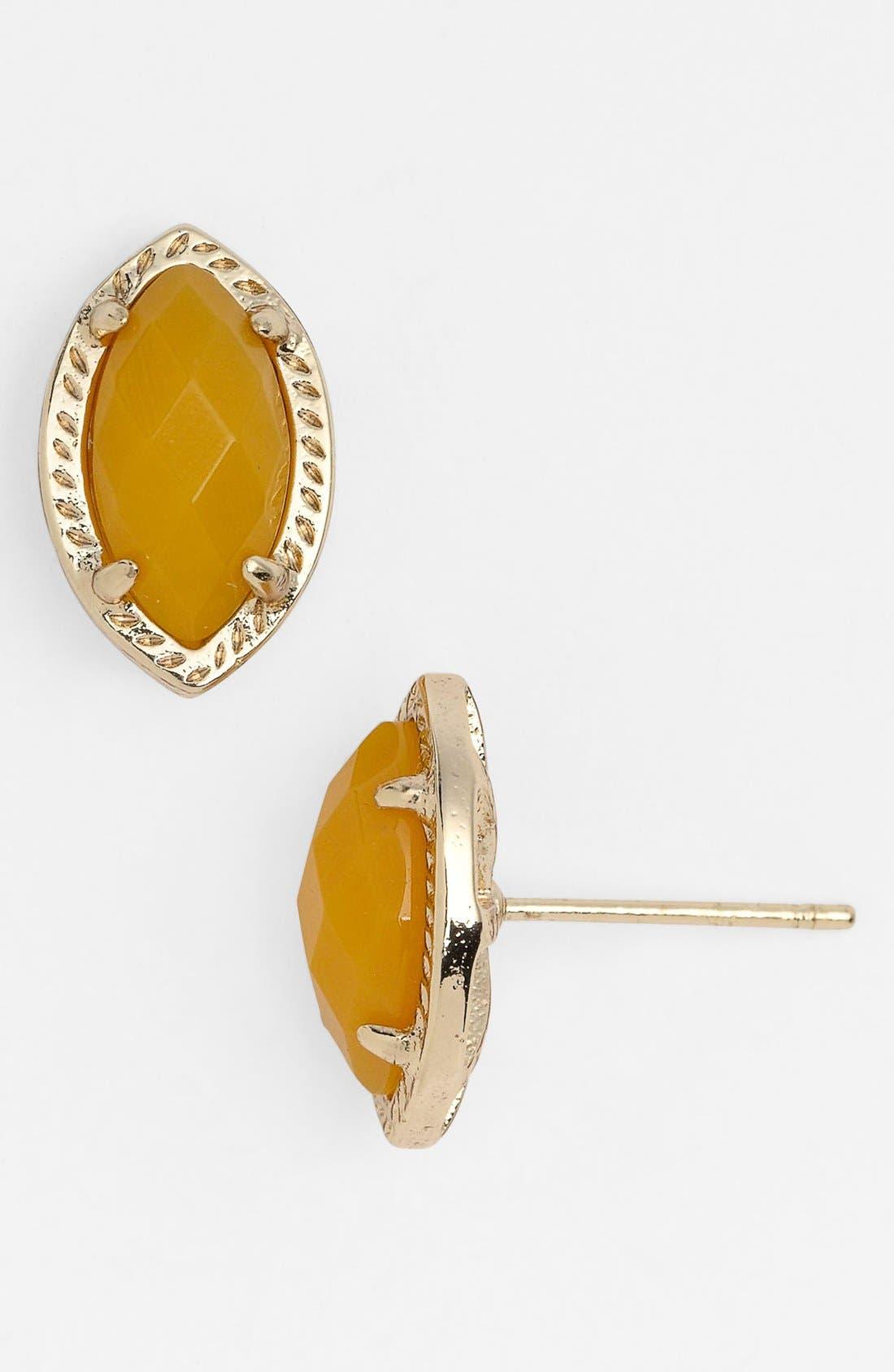 Main Image - Kendra Scott 'Joey' Stone Stud Earrings (Nordstrom Exclusive)