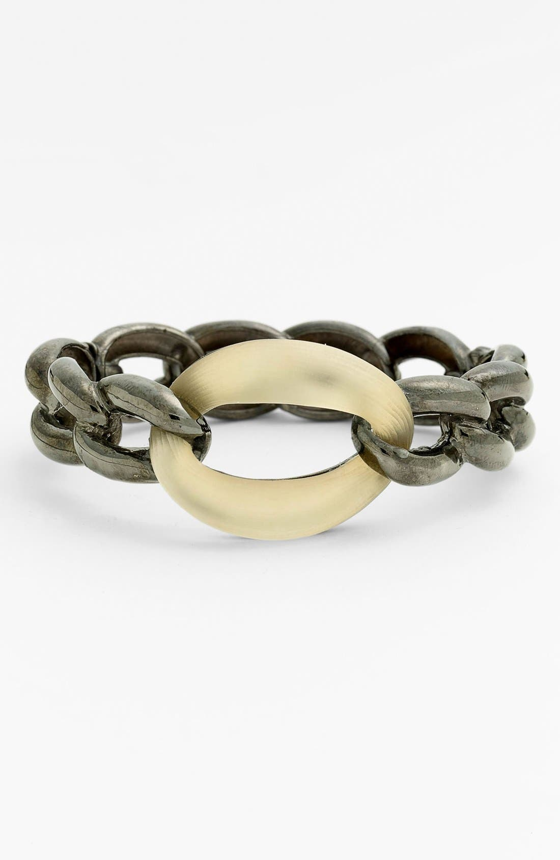 Alternate Image 1 Selected - Alexis Bittar 'Lucite® - Neo Bohemian' Link Hinged Bangle Bracelet (Nordstrom Exclusive)