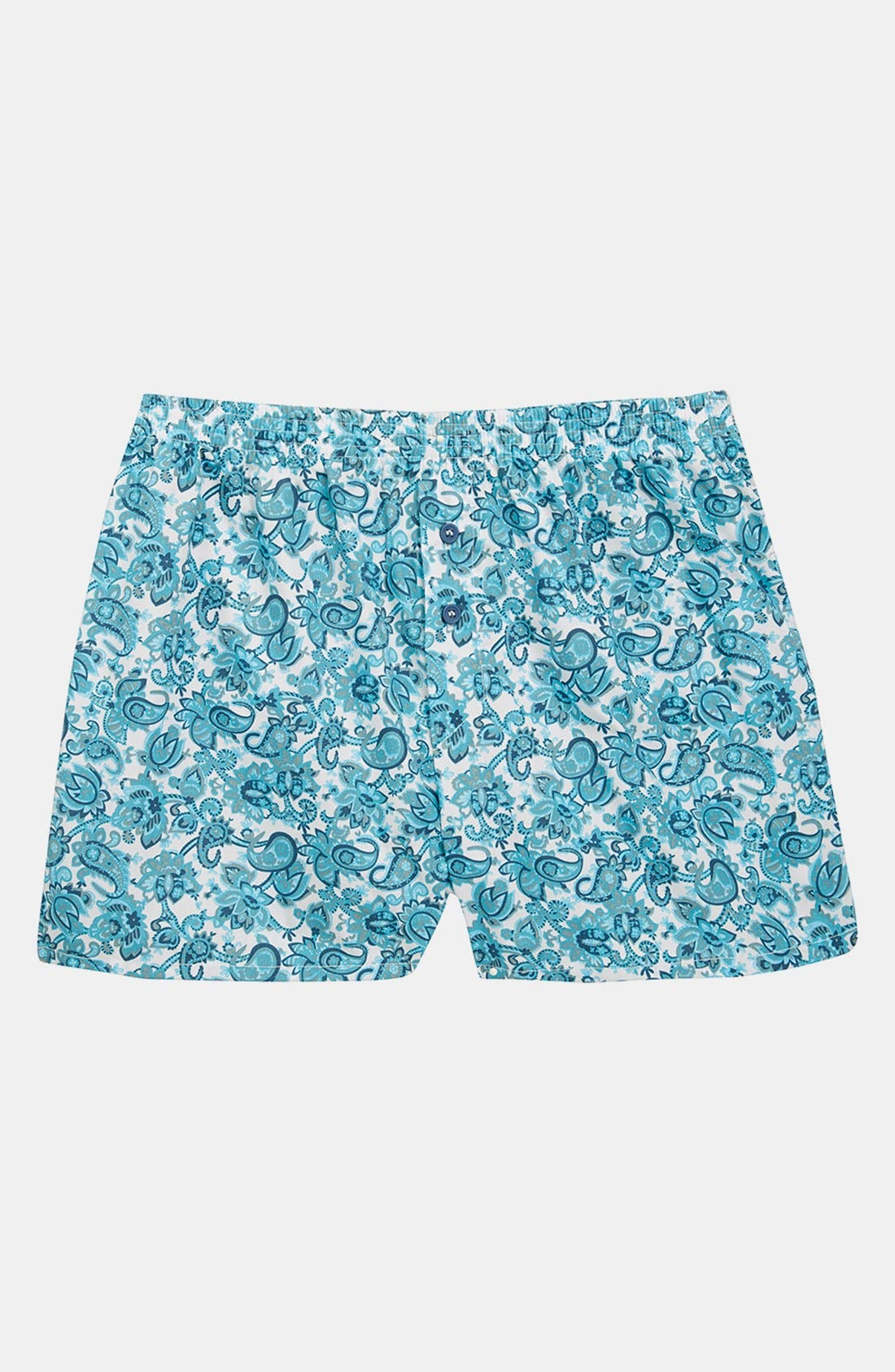 Alternate Image 1 Selected - Topman Paisley Boxers