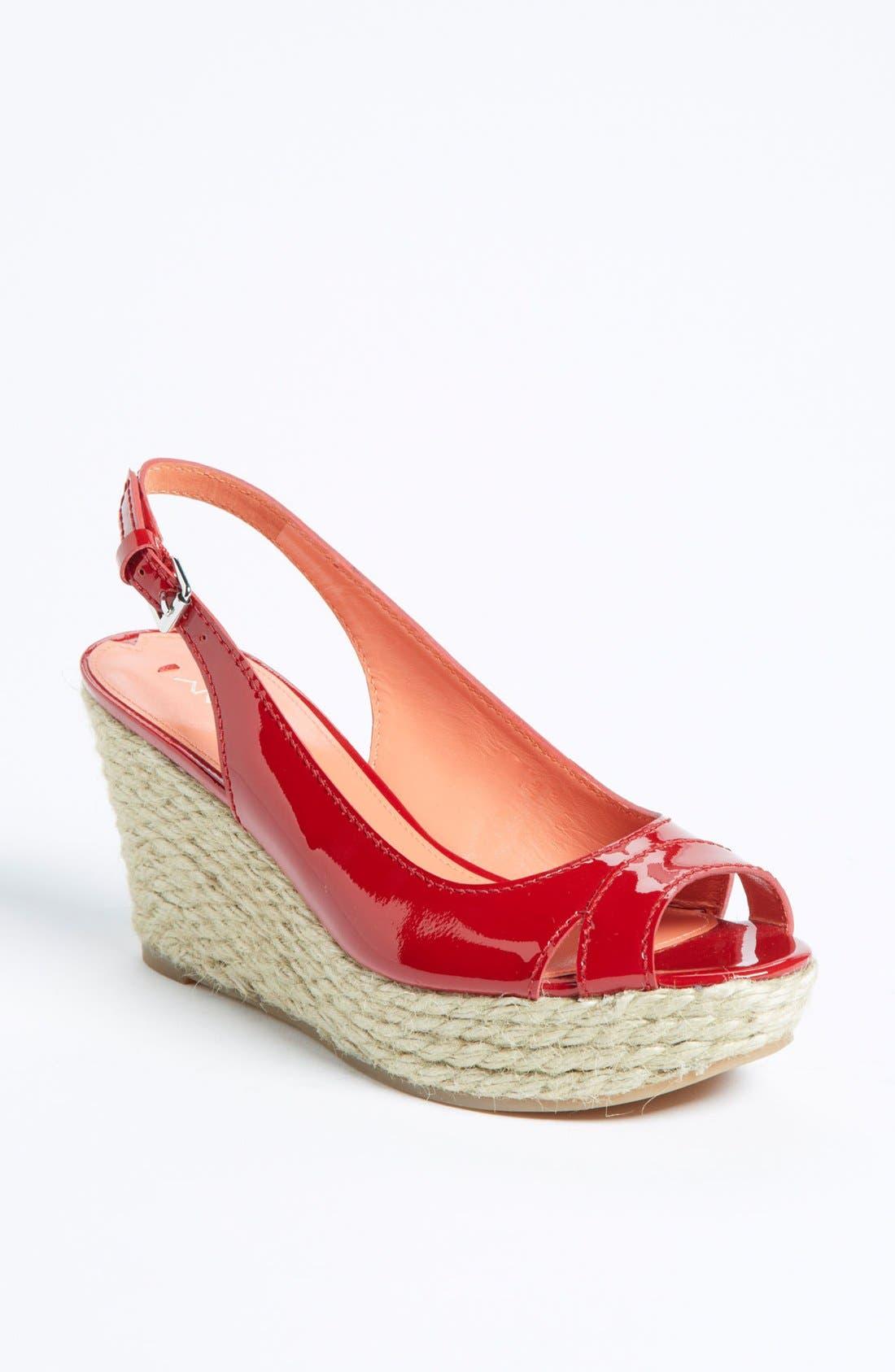 Alternate Image 1 Selected - Via Spiga 'Mahala' Wedge Sandal