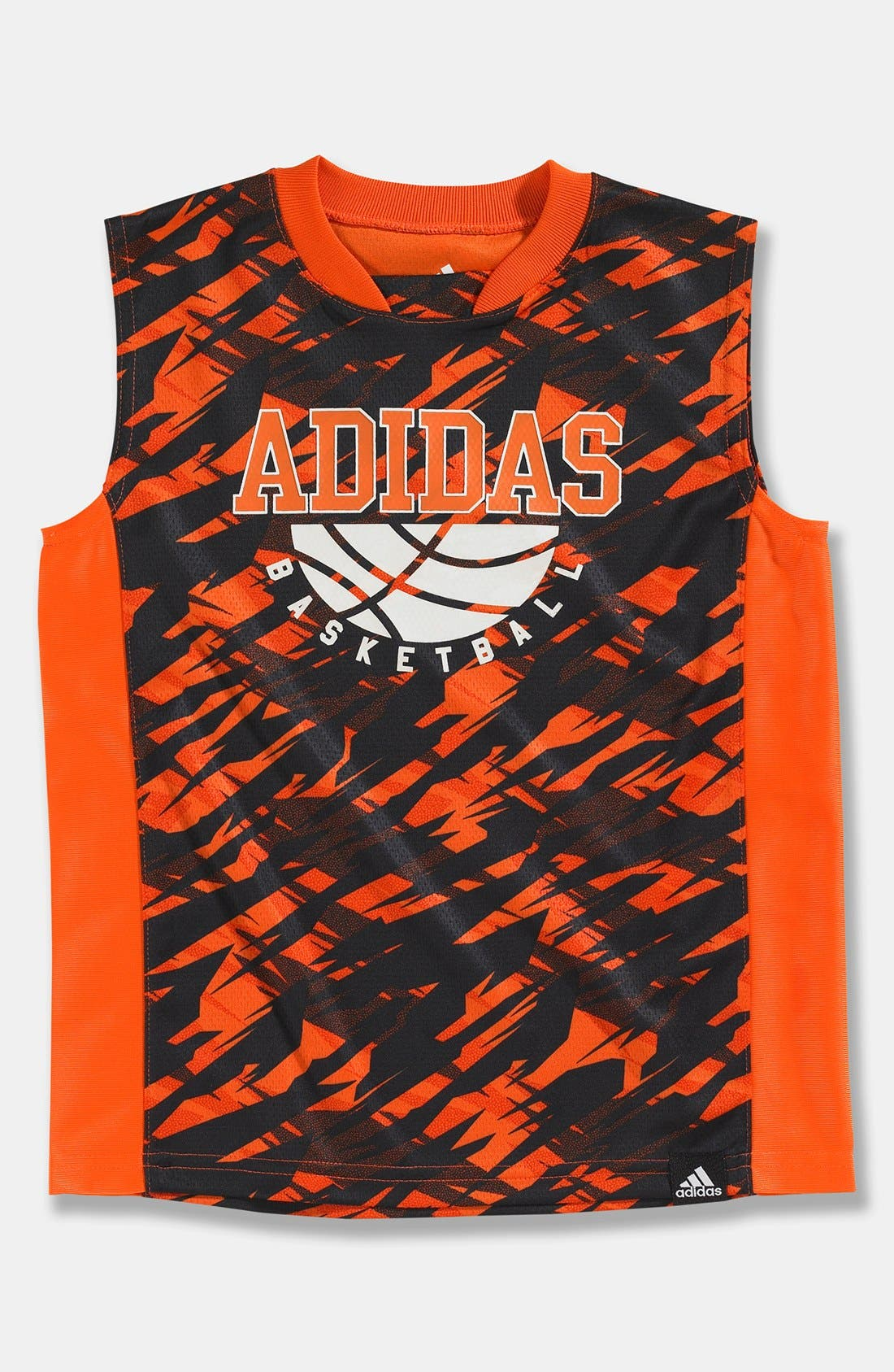 Alternate Image 1 Selected - adidas 'Impact' Jersey Tee (Little Boys)