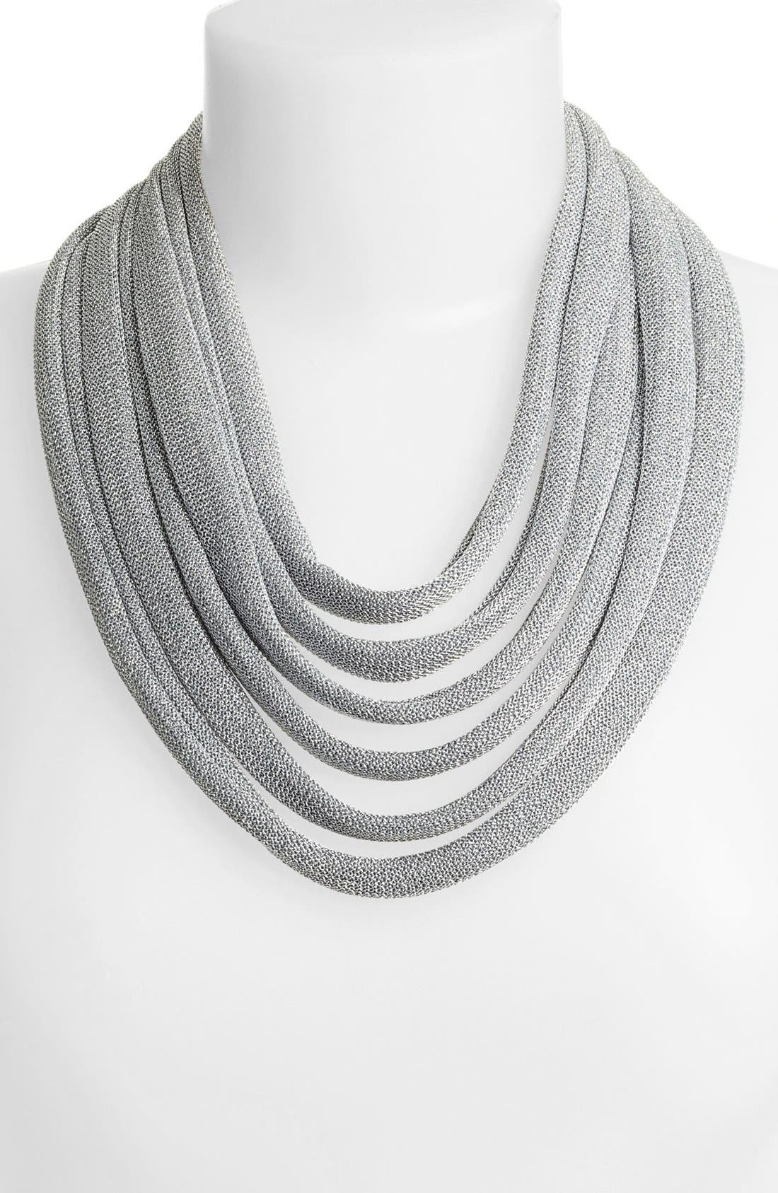 Alternate Image 1 Selected - Adami & Martucci 'Mesh' Multistrand Bib Necklace