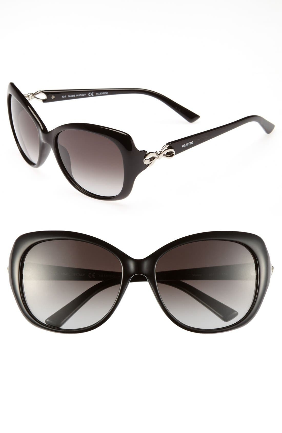 Alternate Image 1 Selected - Valentino Oversized Sunglasses